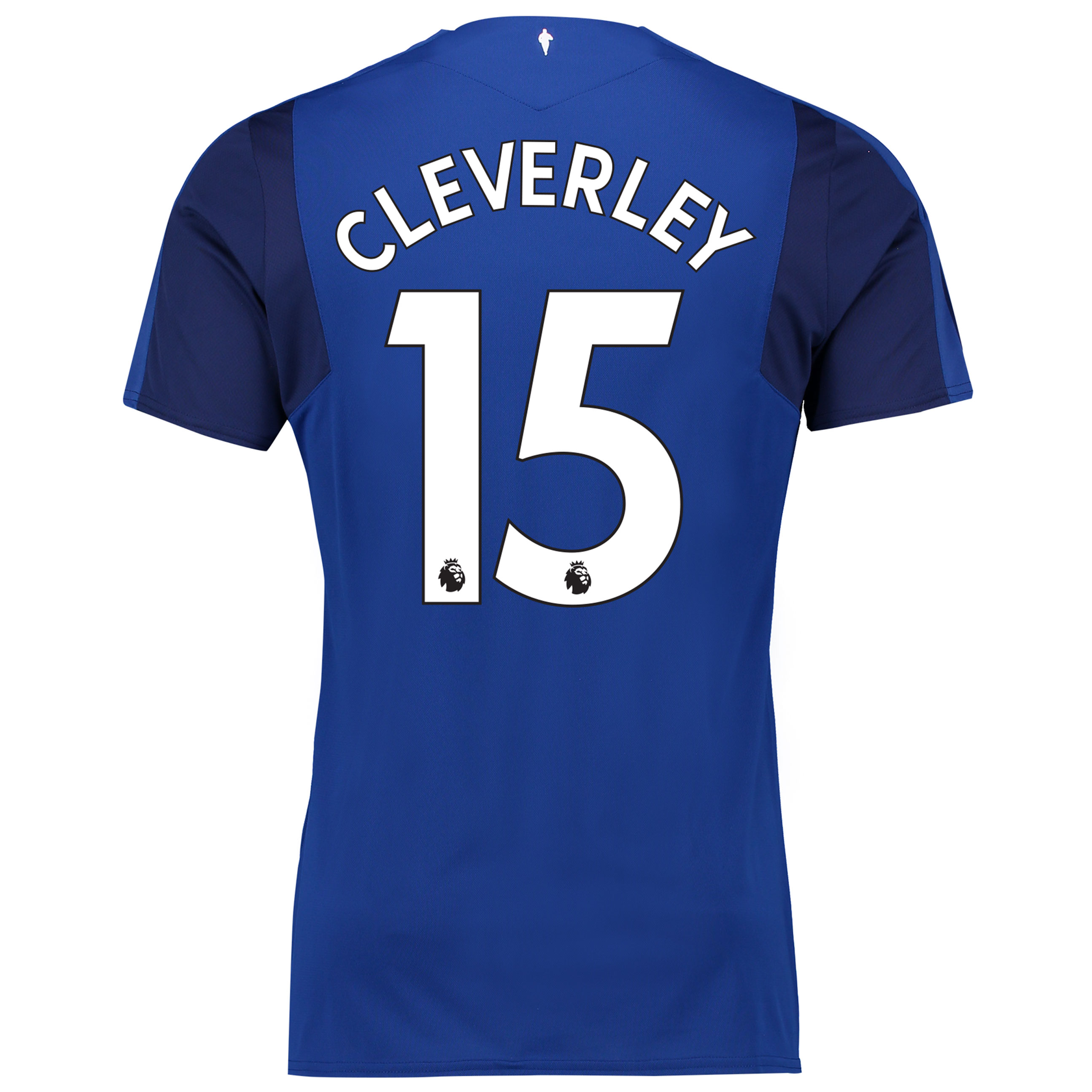 Everton Home Shirt 2017/18 - Junior with Cleverley 15 printing