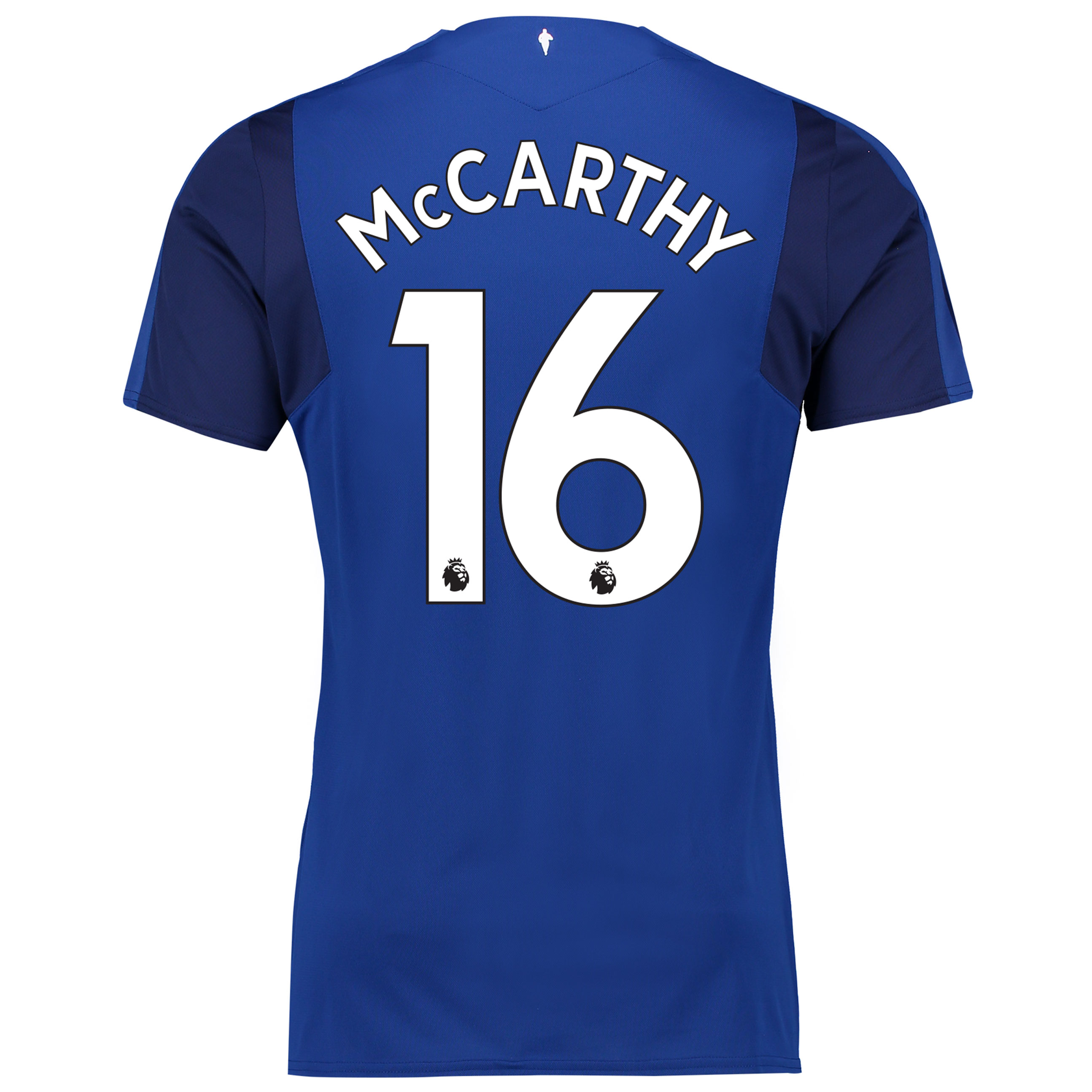 Everton Home Shirt 2017/18 - Junior with McCarthy 16 printing