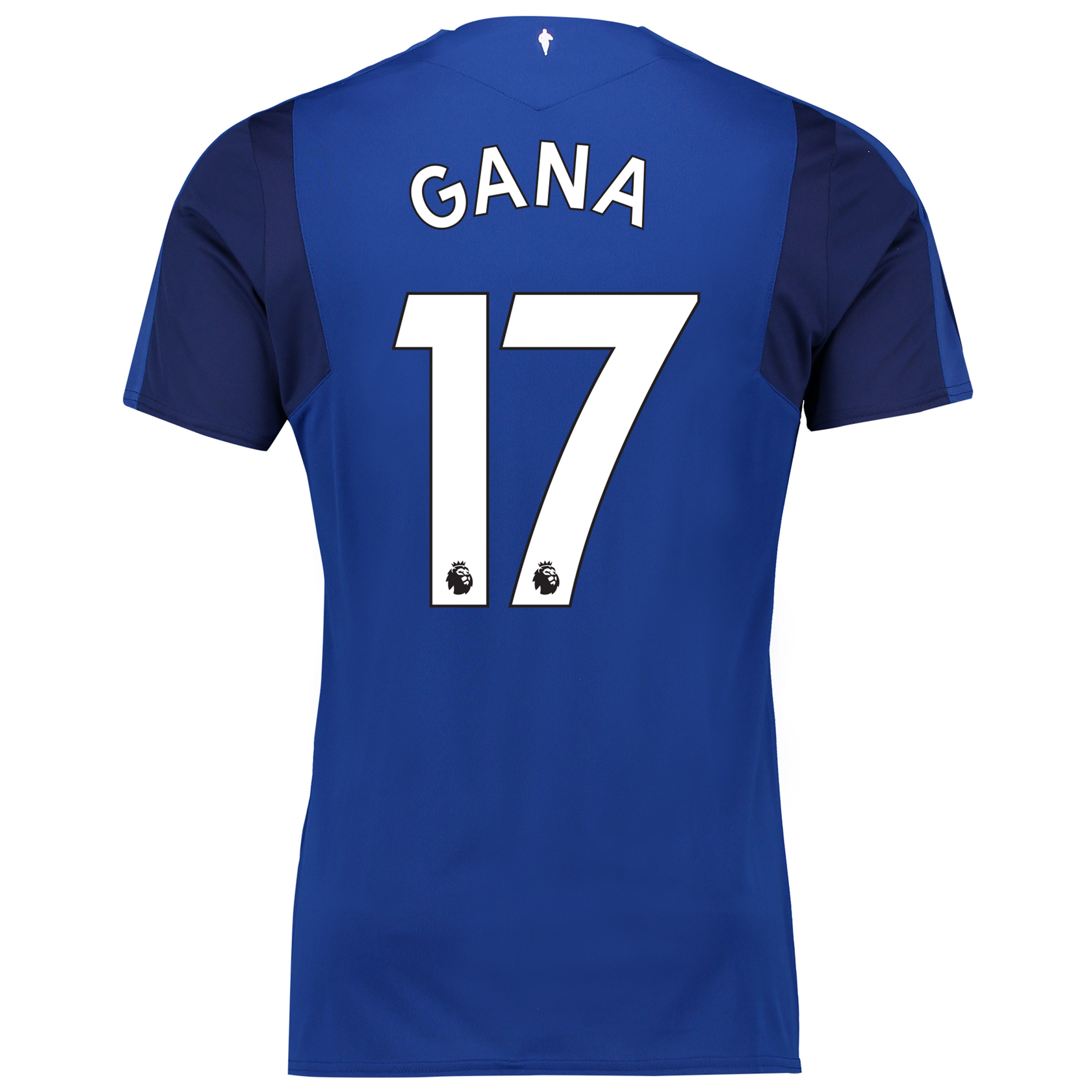 Everton Home Shirt 2017/18 - Junior with Gana 17 printing