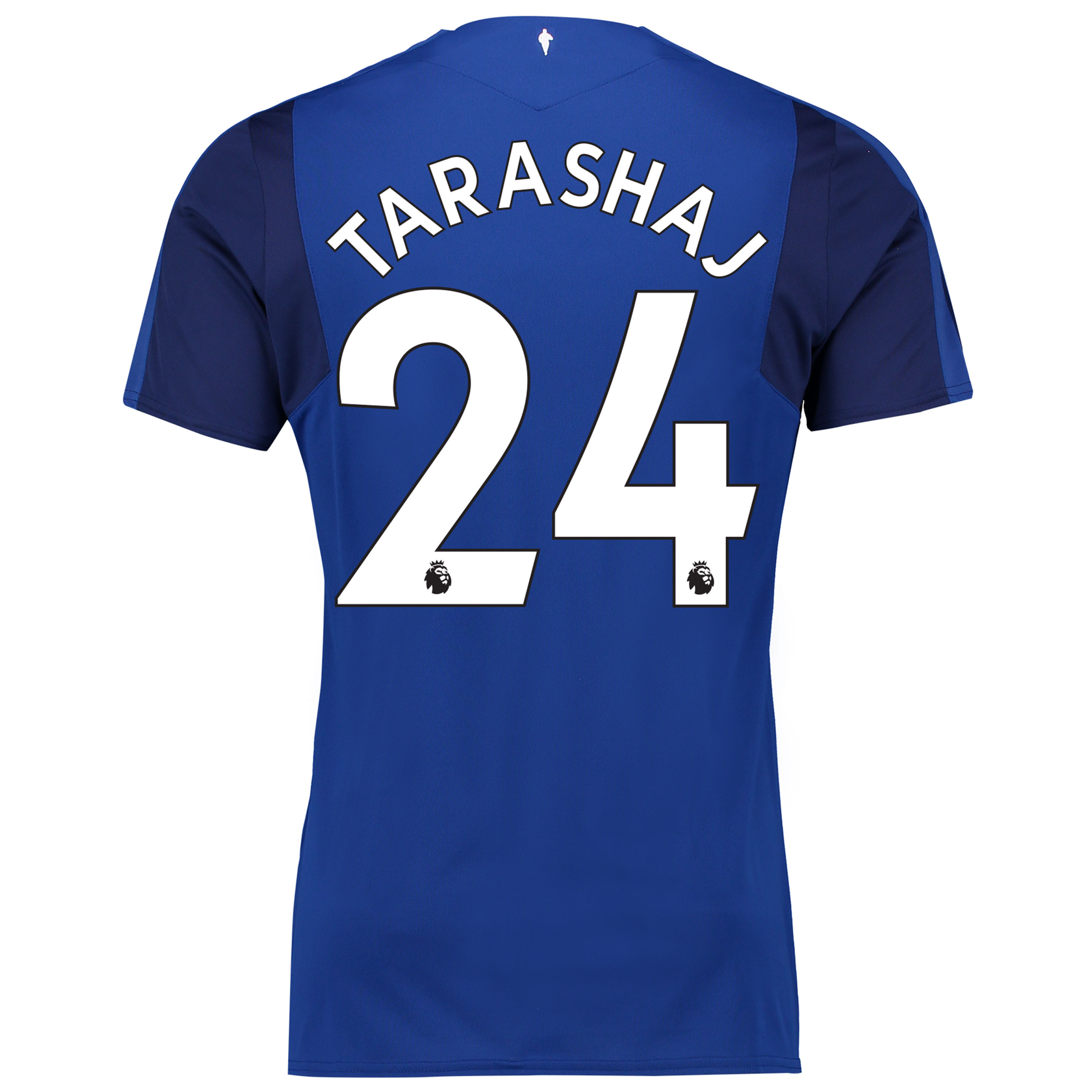 Everton Home Shirt 2017/18 - Junior with Tarashaj 24 printing