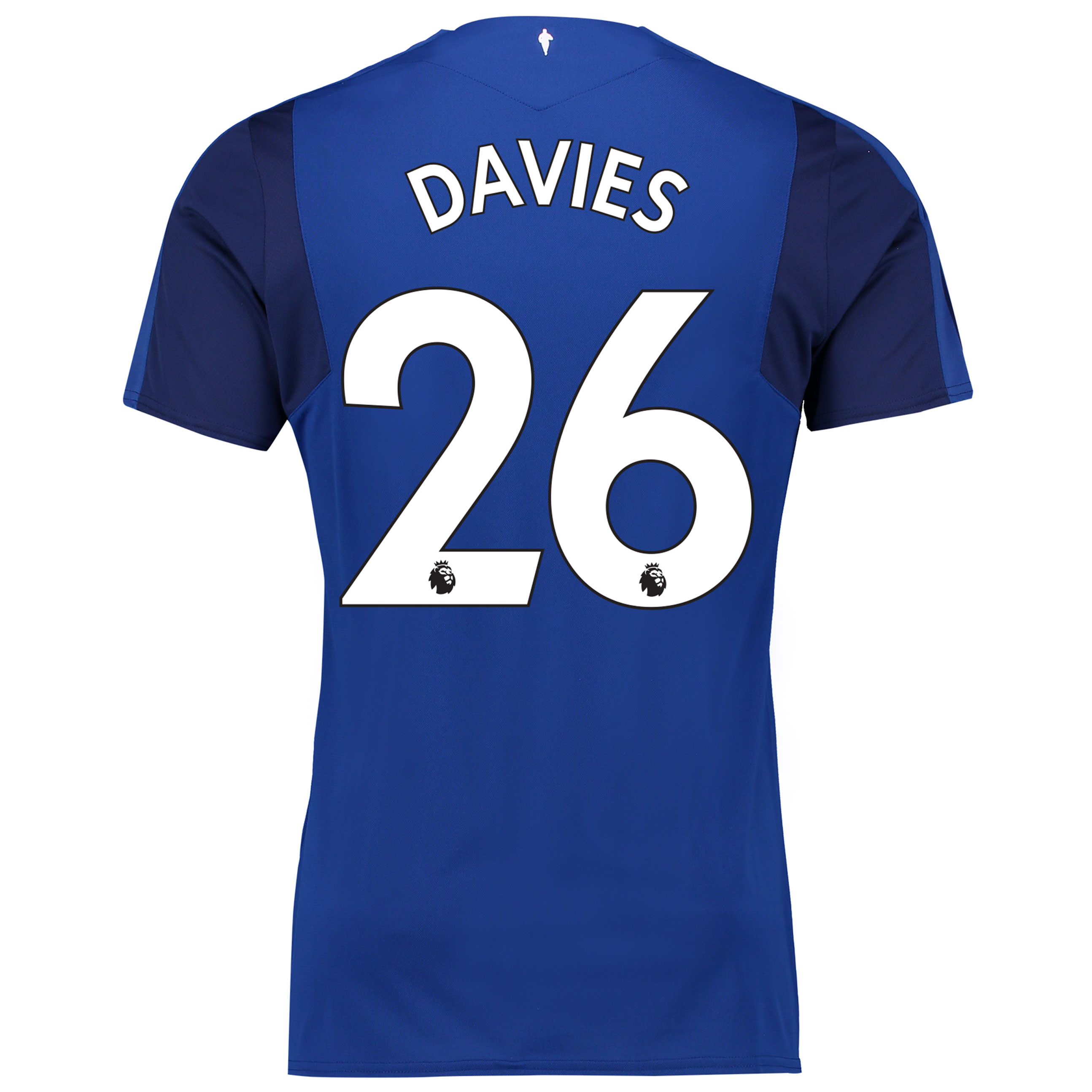 Everton Home Shirt 2017/18 - Junior with Davies 26 printing
