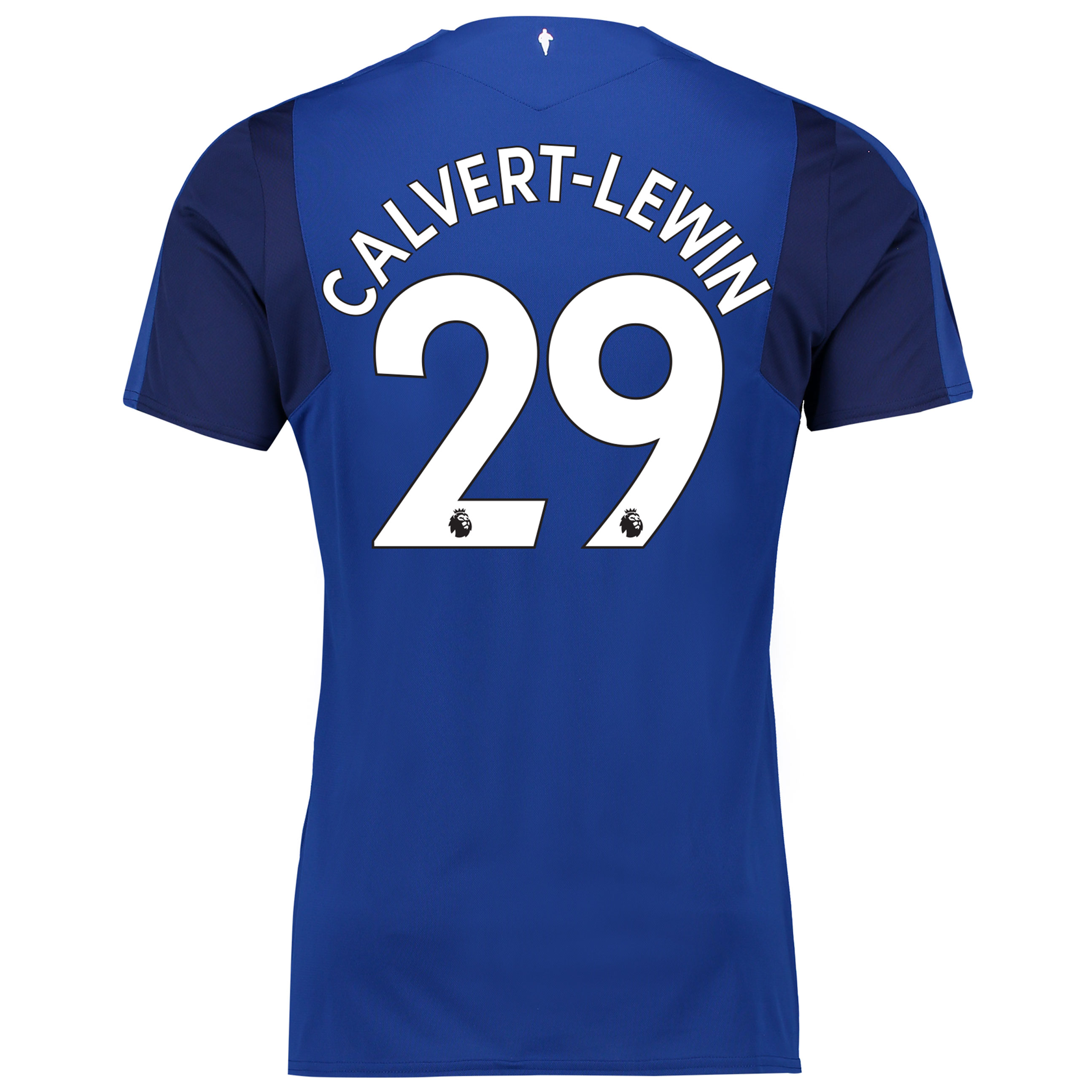 Everton Home Shirt 2017/18 - Junior with Calvert-Lewin 29 printing