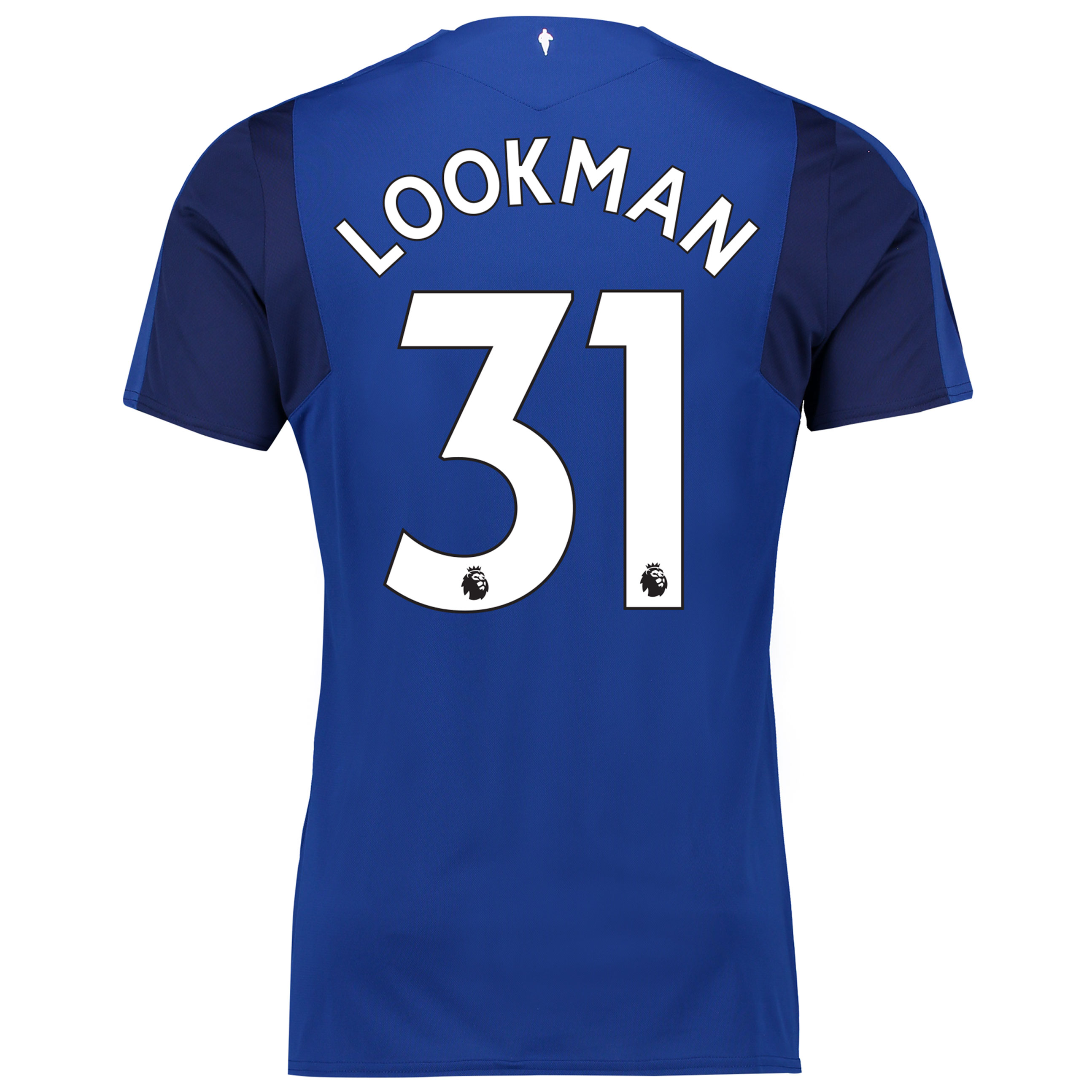 Everton Home Shirt 2017/18 - Junior with Lookman 31 printing