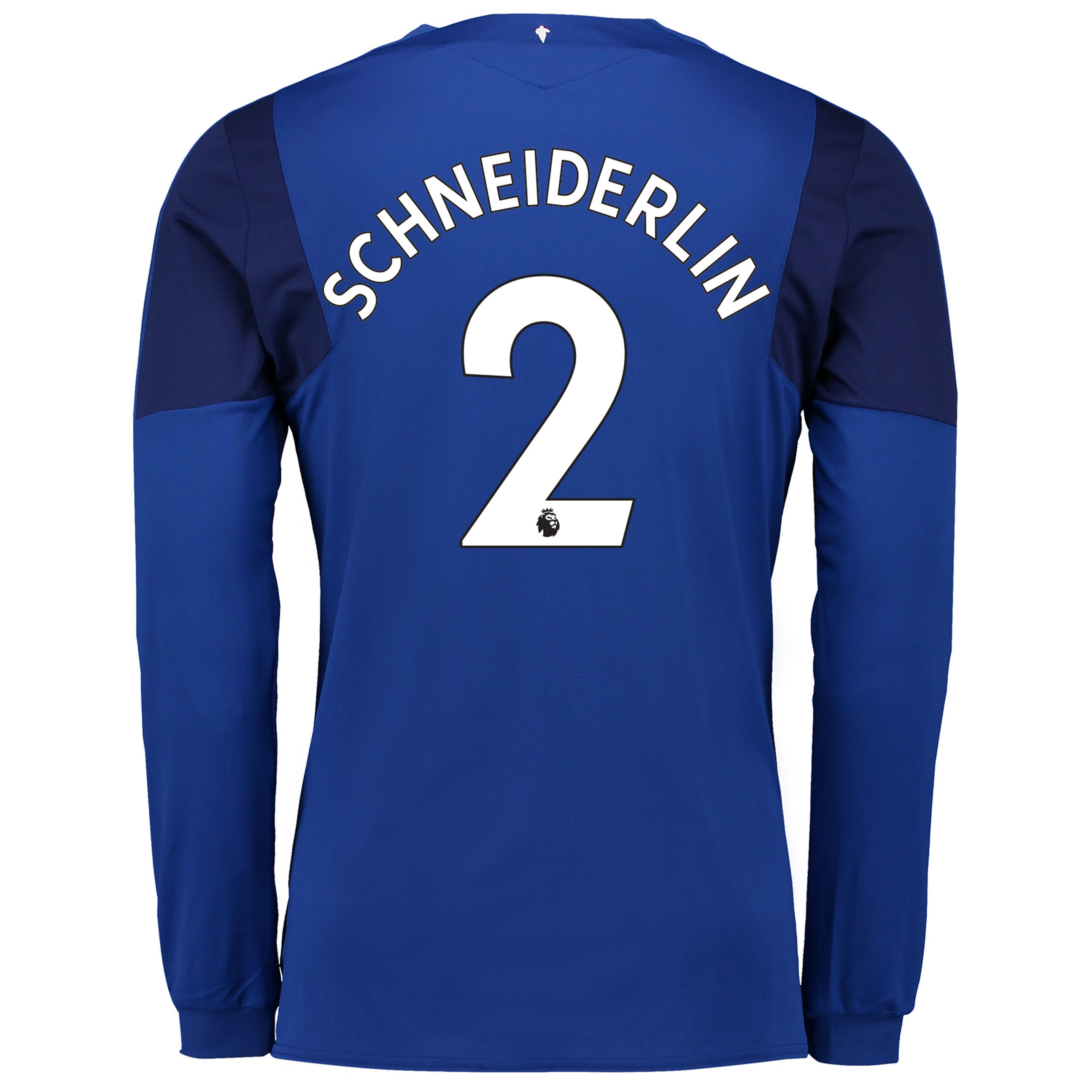 Everton Home Shirt 2017/18 - Junior - Long Sleeved with Schneiderlin 2