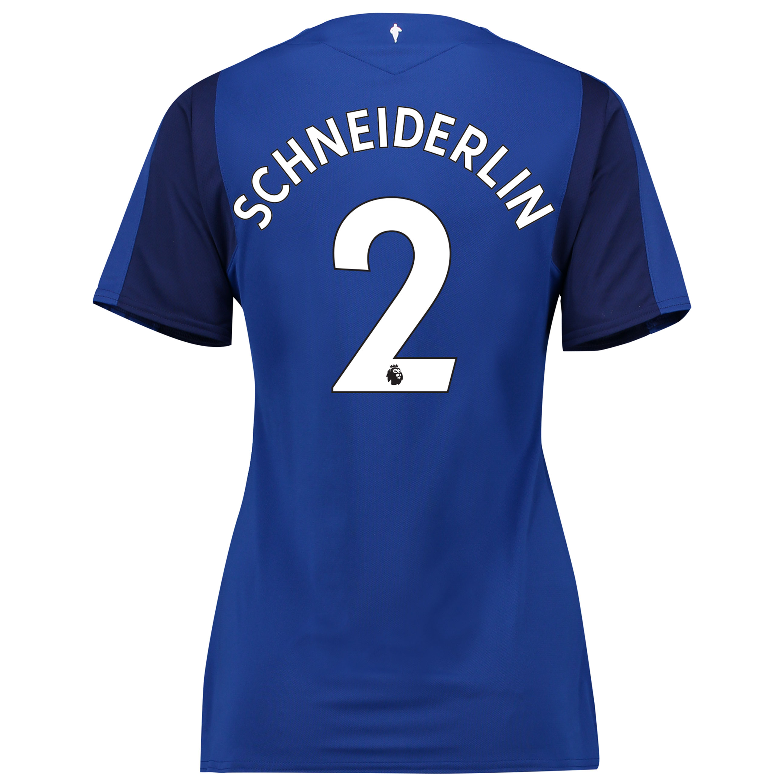 Everton Home Shirt 2017/18 - Womens with Schneiderlin 2 printing