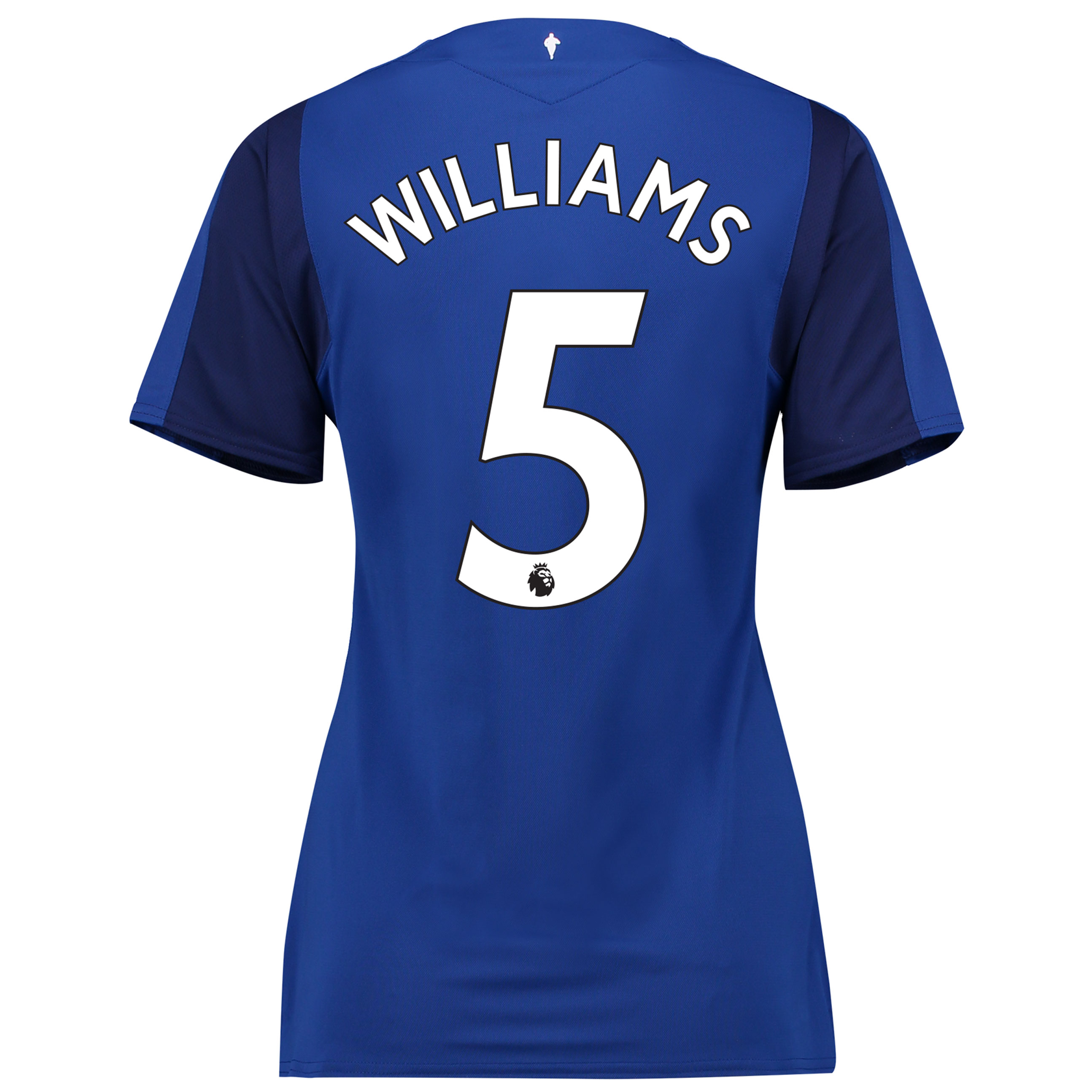 Everton Home Shirt 2017/18 - Womens with Williams 5 printing
