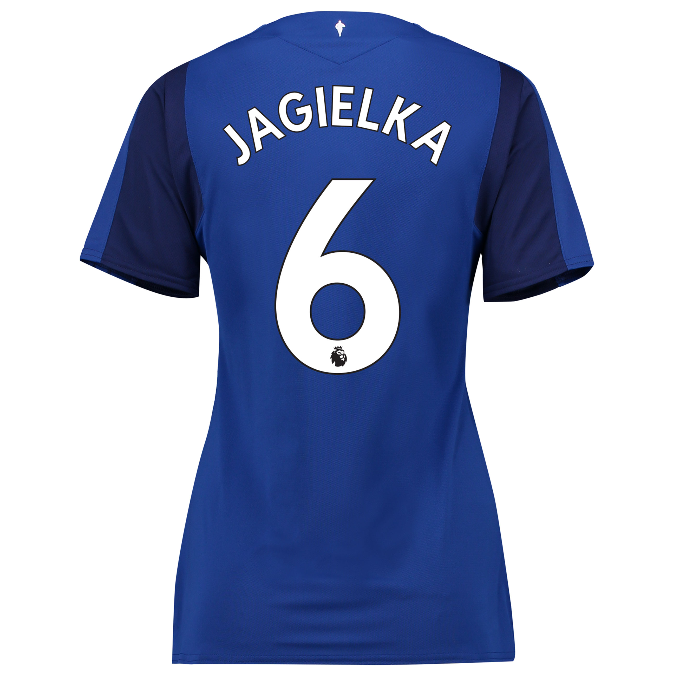 Everton Home Shirt 2017/18 - Womens with Jagielka 6 printing