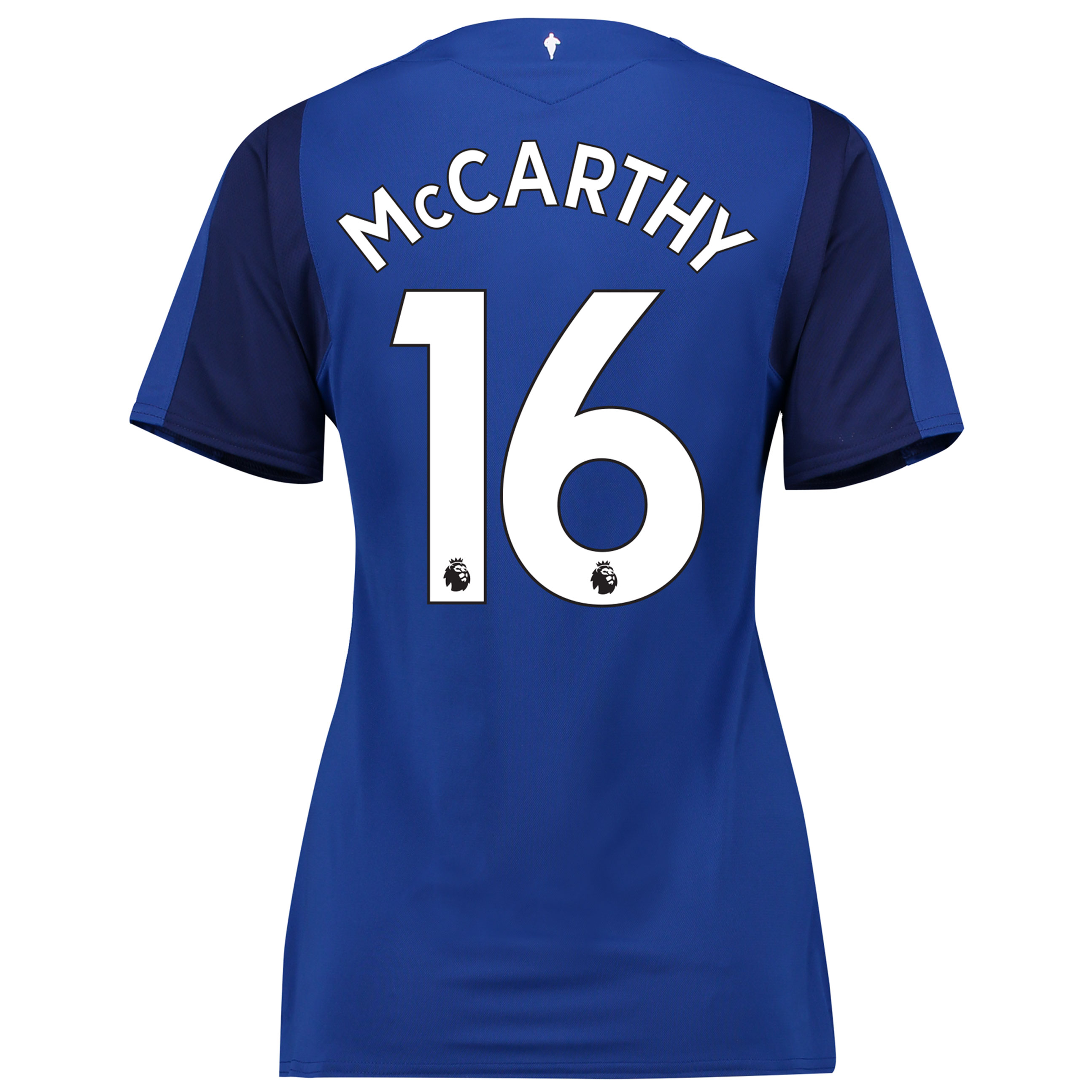 Everton Home Shirt 2017/18 - Womens with McCarthy 16 printing
