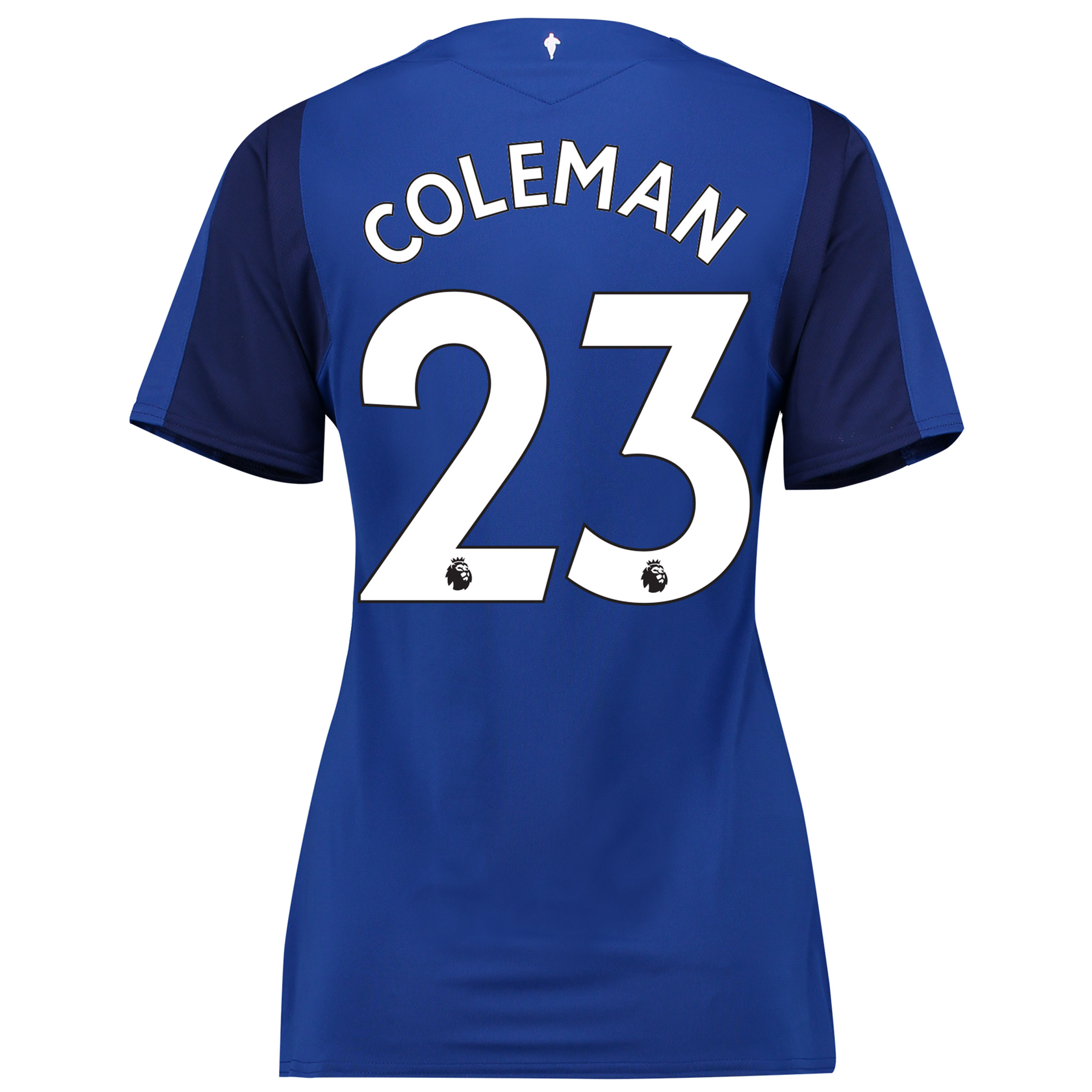 Everton Home Shirt 2017/18 - Womens with Coleman 23 printing