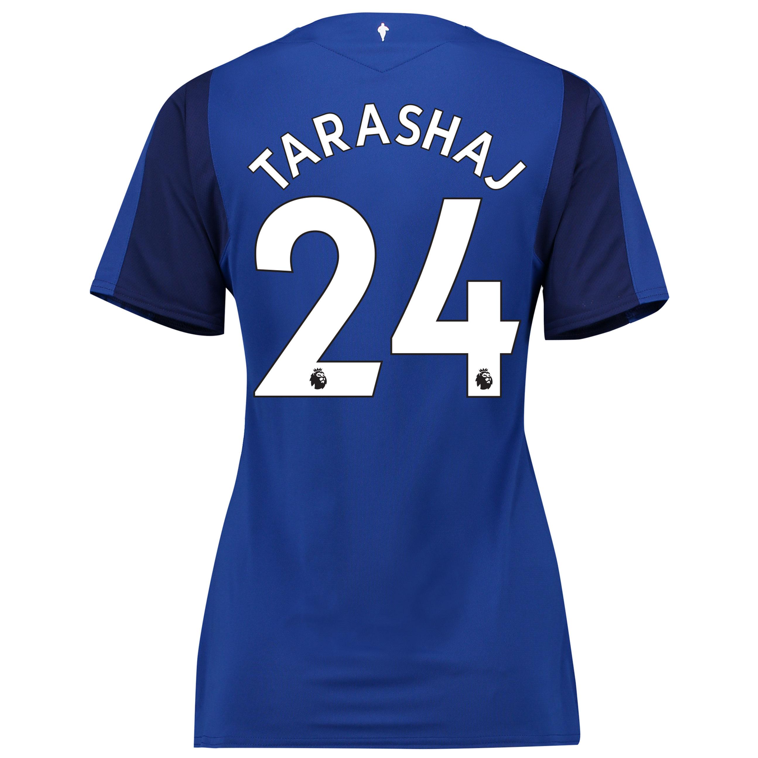 Everton Home Shirt 2017/18 - Womens with Tarashaj 24 printing
