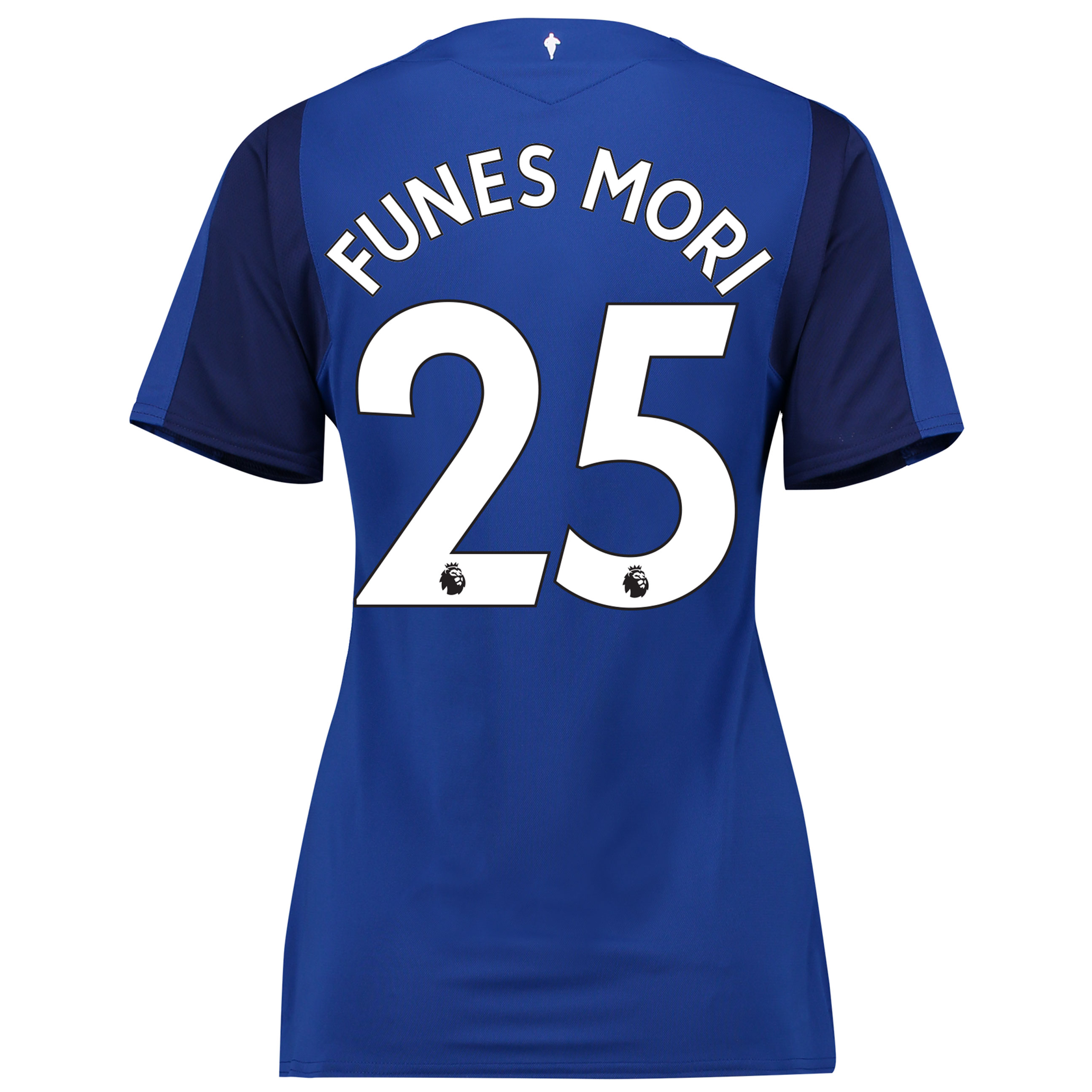 Everton Home Shirt 2017/18 - Womens with Funes Mori 25 printing