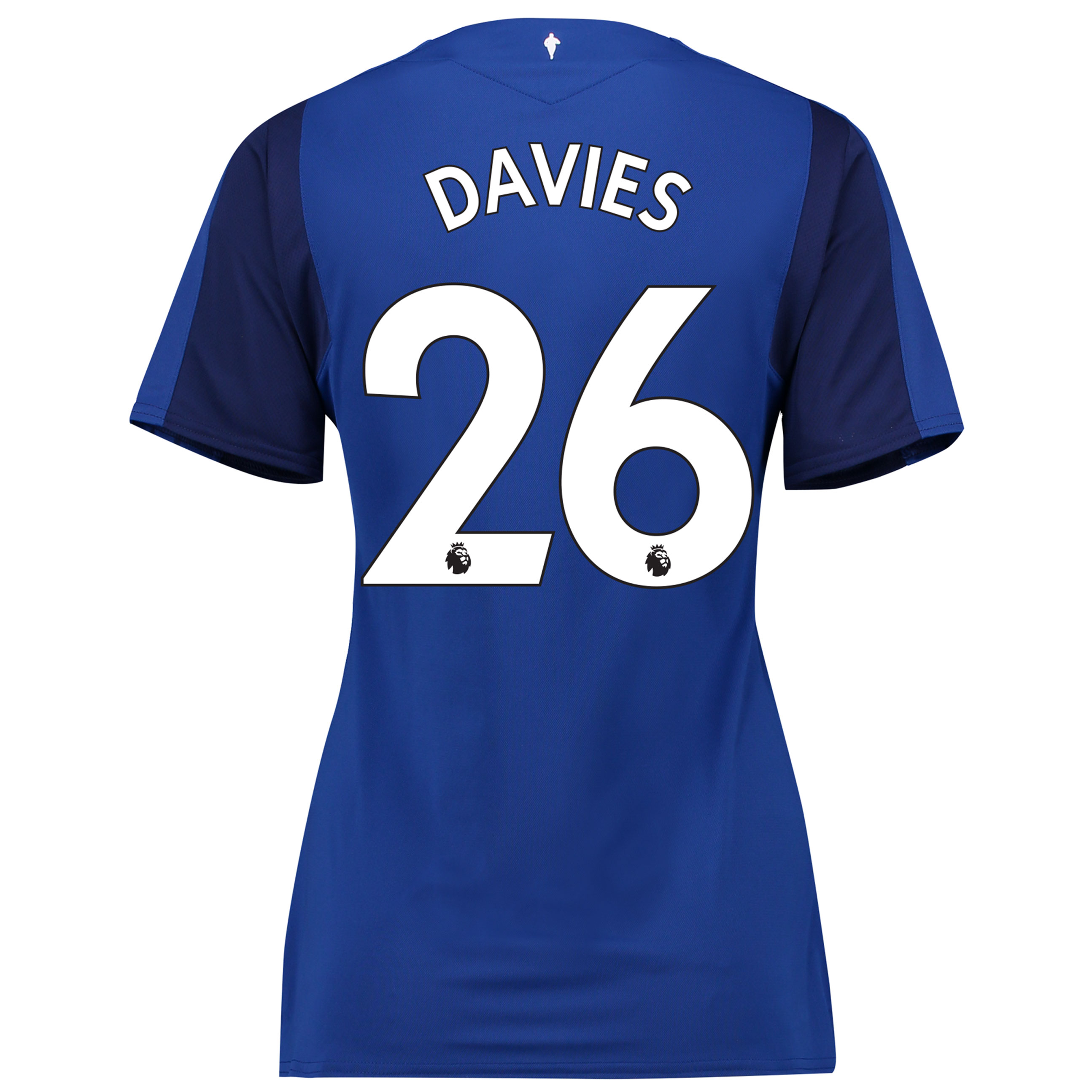 Everton Home Shirt 2017/18 - Womens with Davies 26 printing