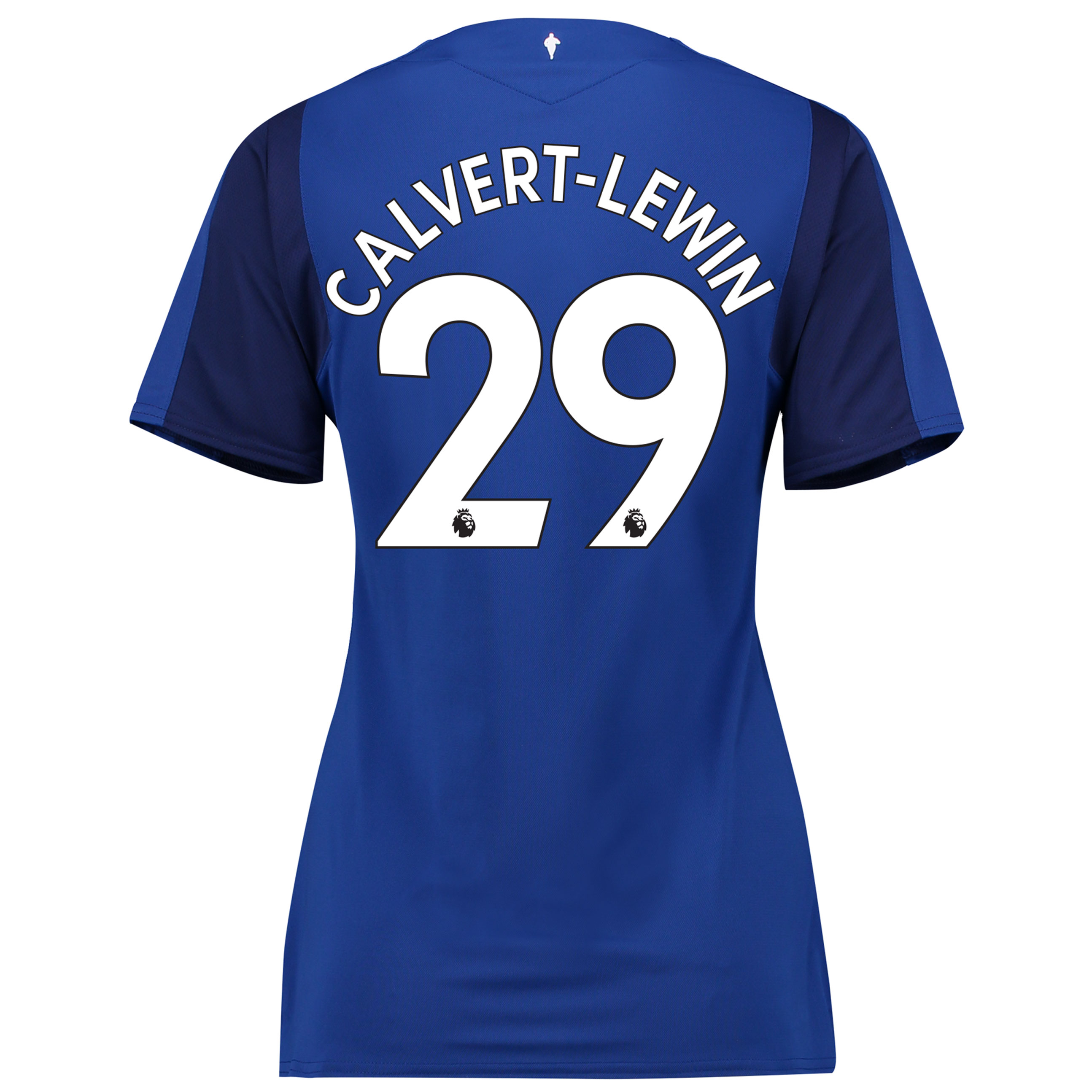 Everton Home Shirt 2017/18 - Womens with Calvert-Lewin 29 printing