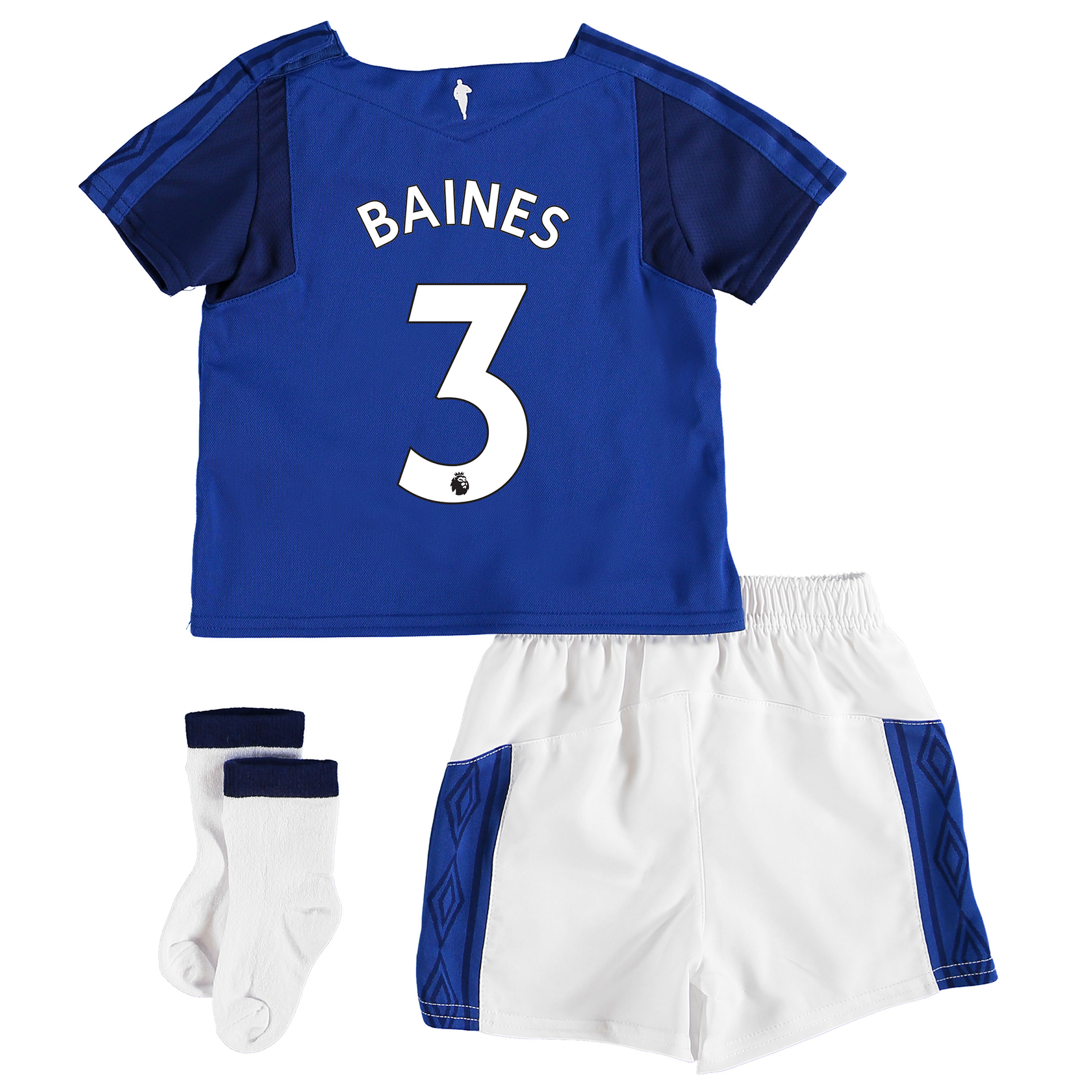 Everton Home Baby Kit 2017/18 with Baines 3 printing