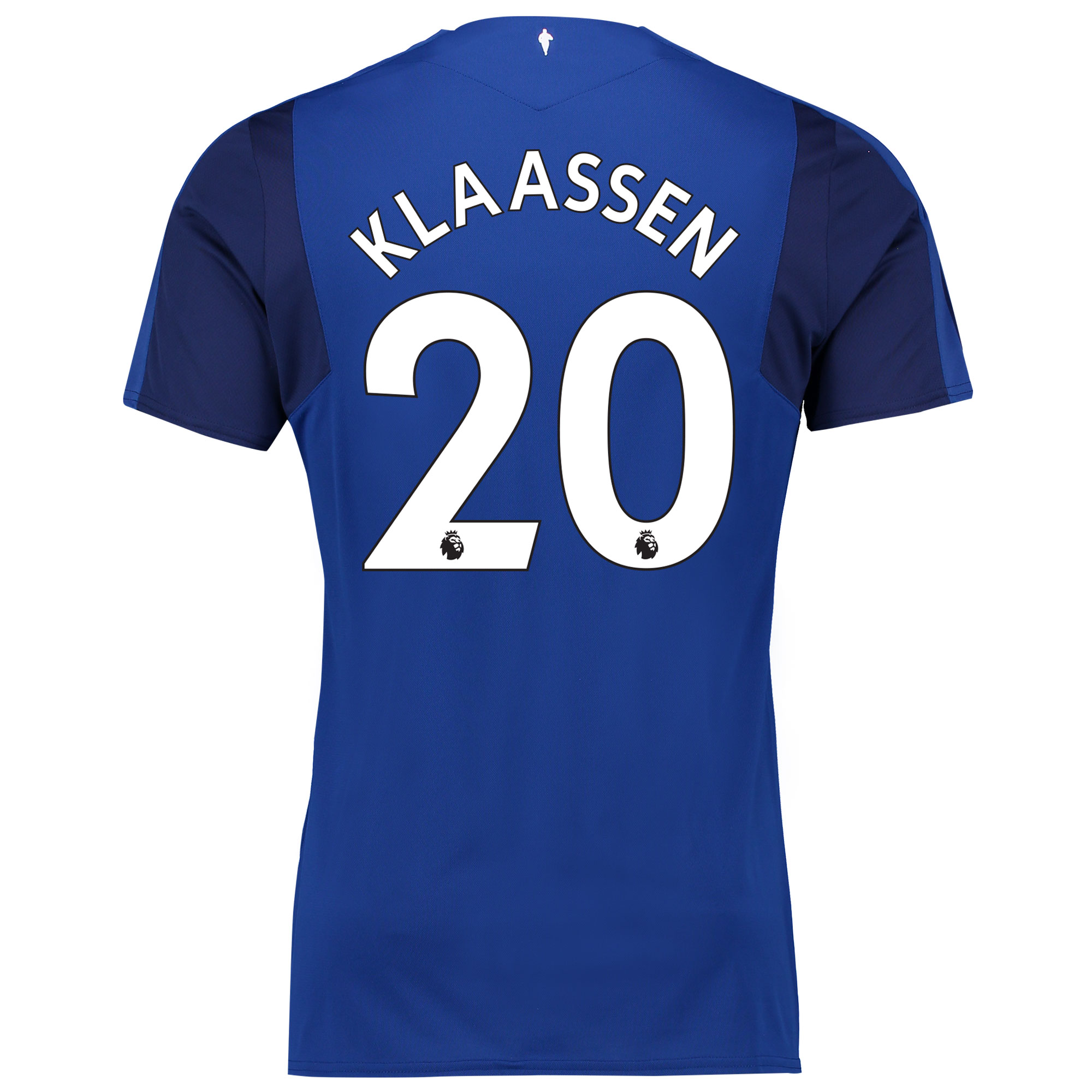 Everton Home Shirt 2017/18 - Junior with Klaassen 20 printing