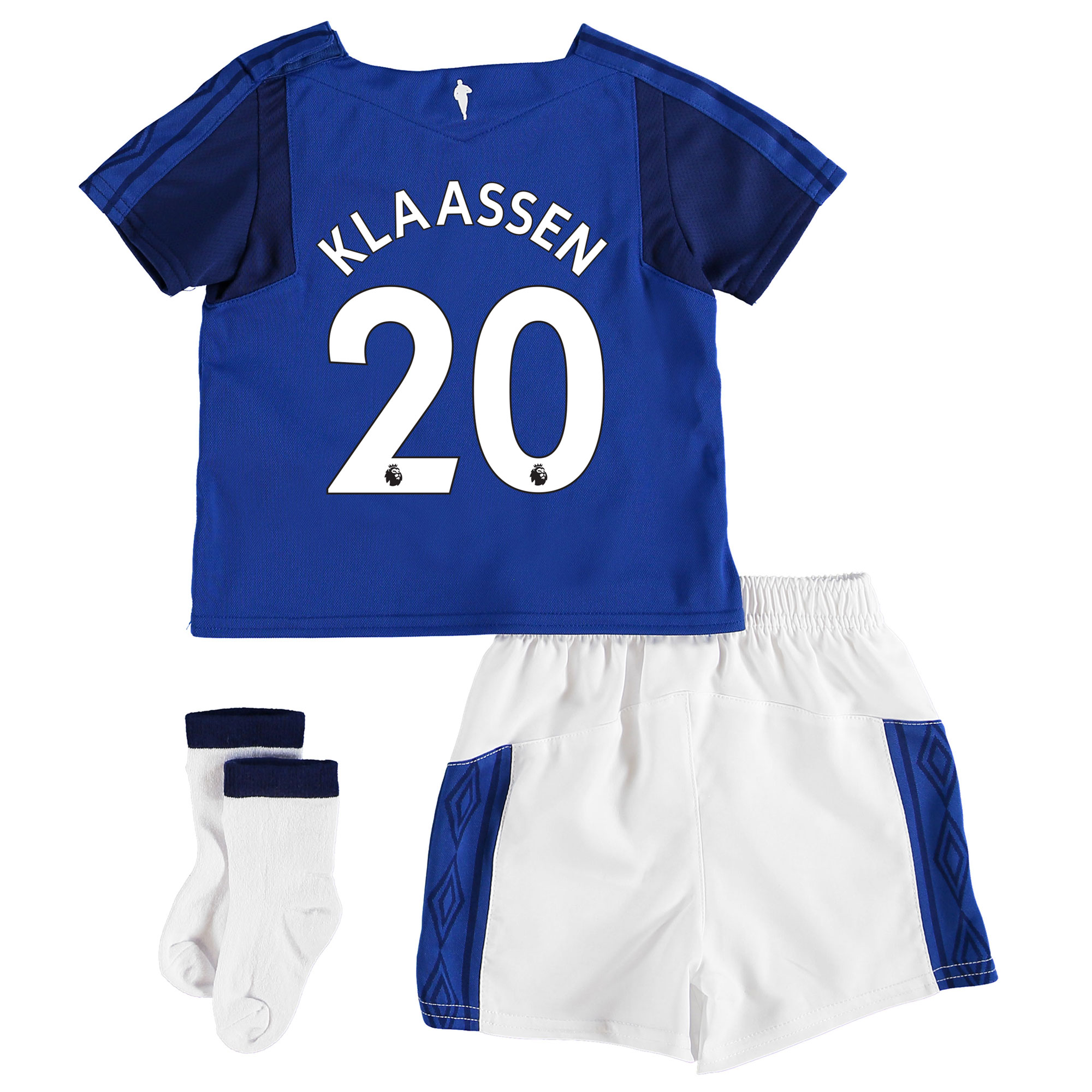 Everton Home Baby Kit 2017/18 with Klaassen 20 printing