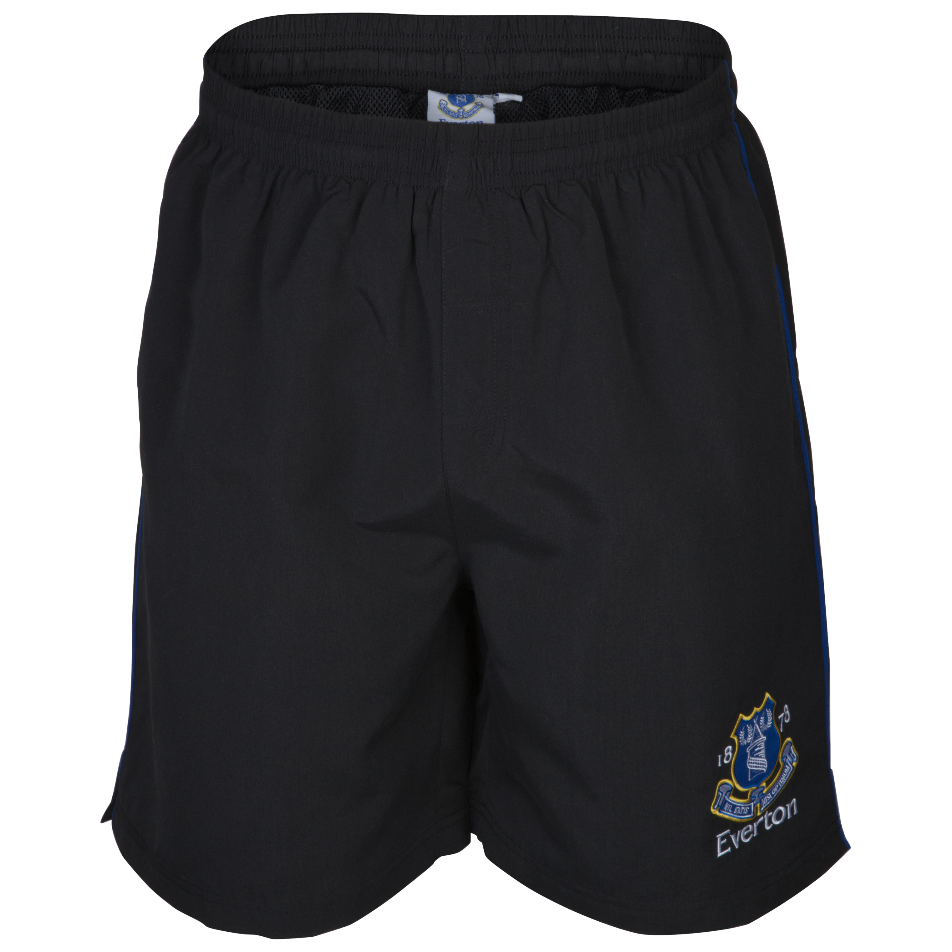 Everton Essential Summit Woven Shorts - Black
