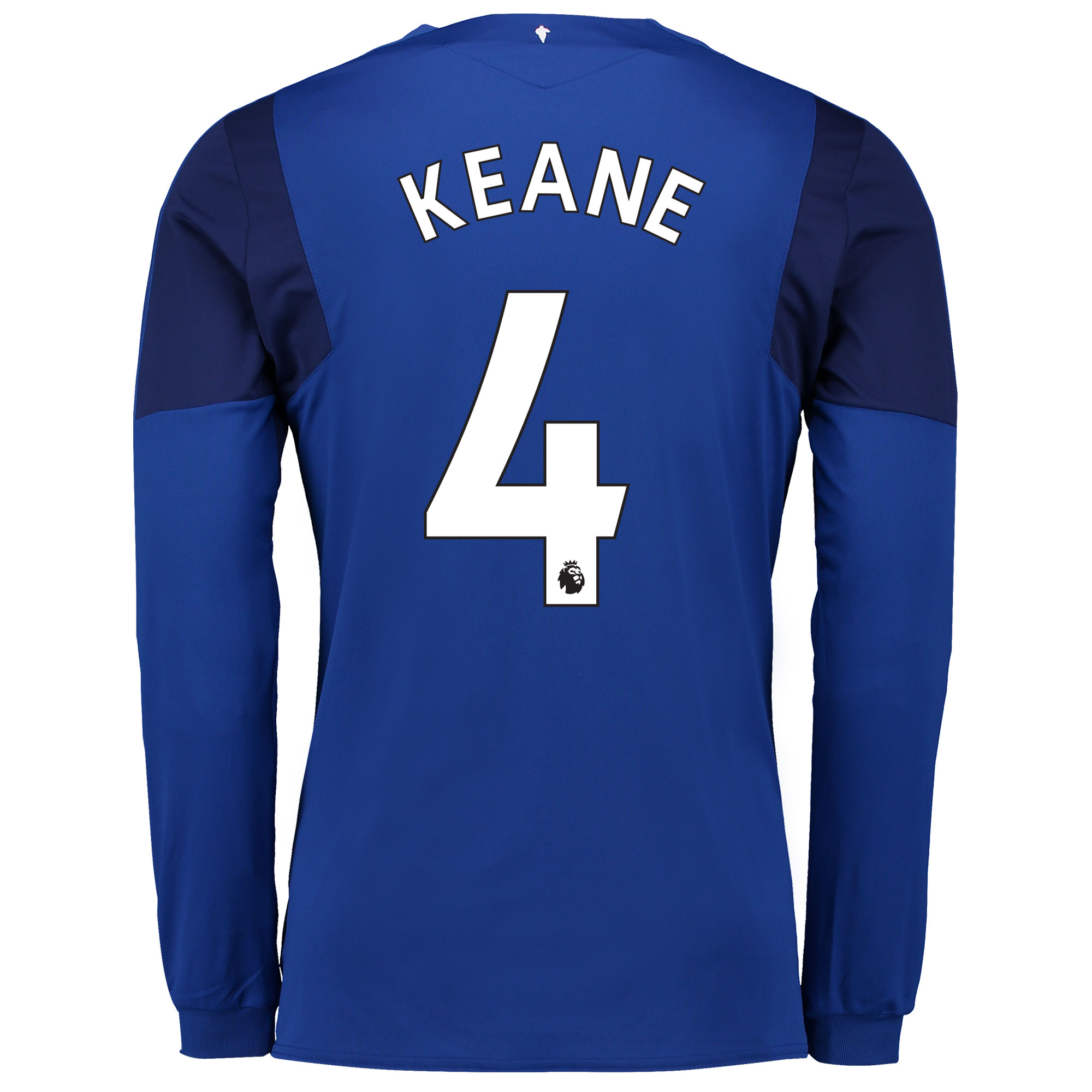 Everton Home Shirt 2017/18 - Long Sleeved with Keane 4 printing