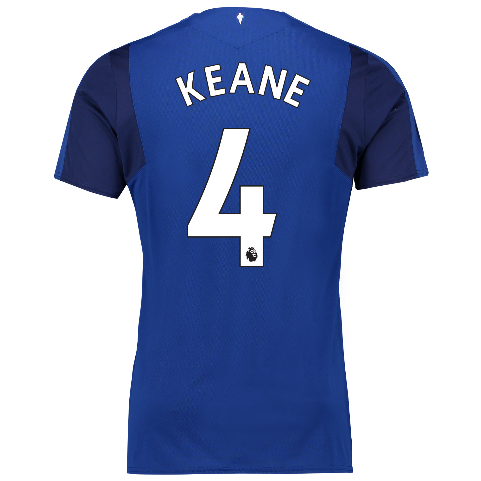 Everton Home Shirt 2017/18 - Junior with Keane 4 printing