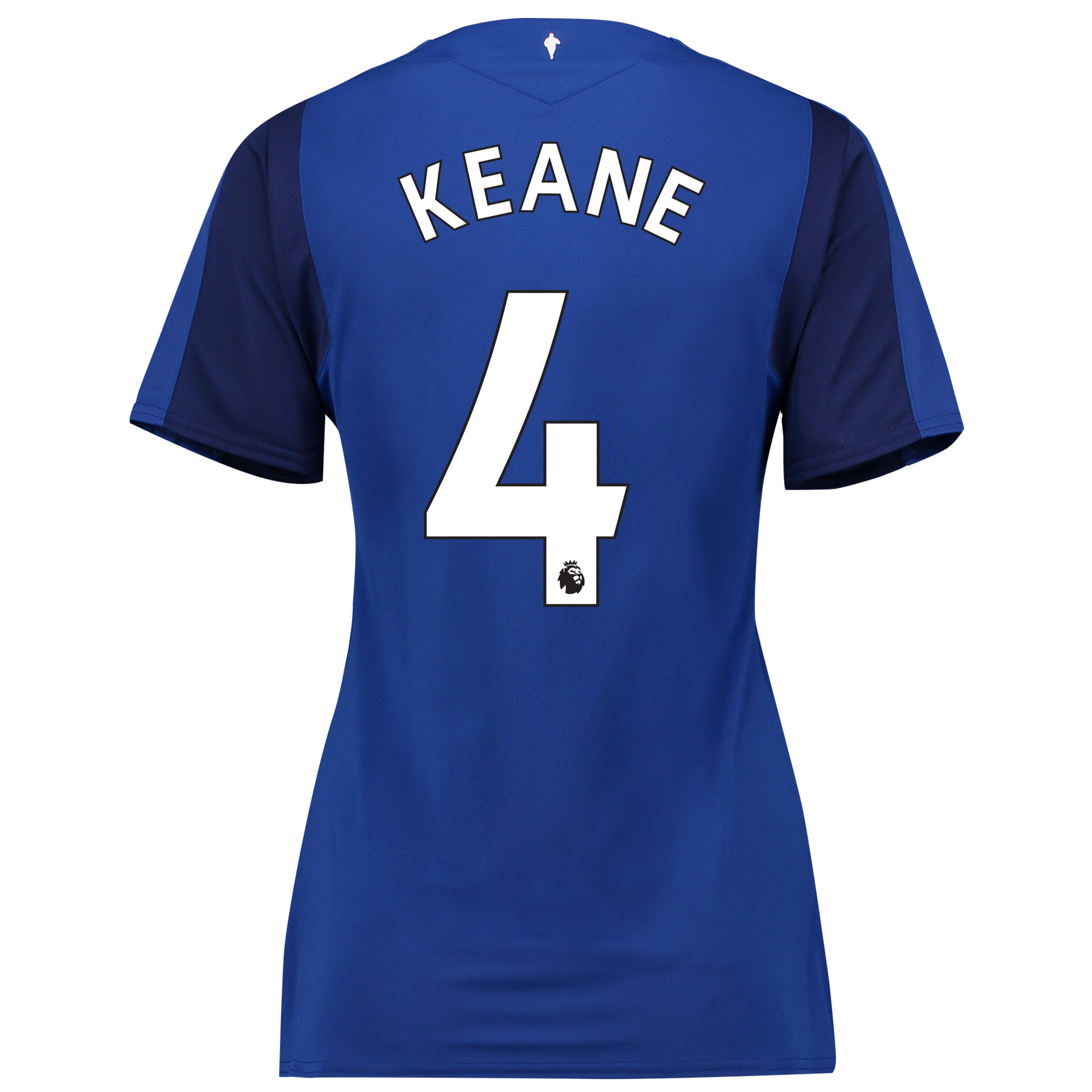Everton Home Shirt 2017/18 - Womens with Keane 4 printing