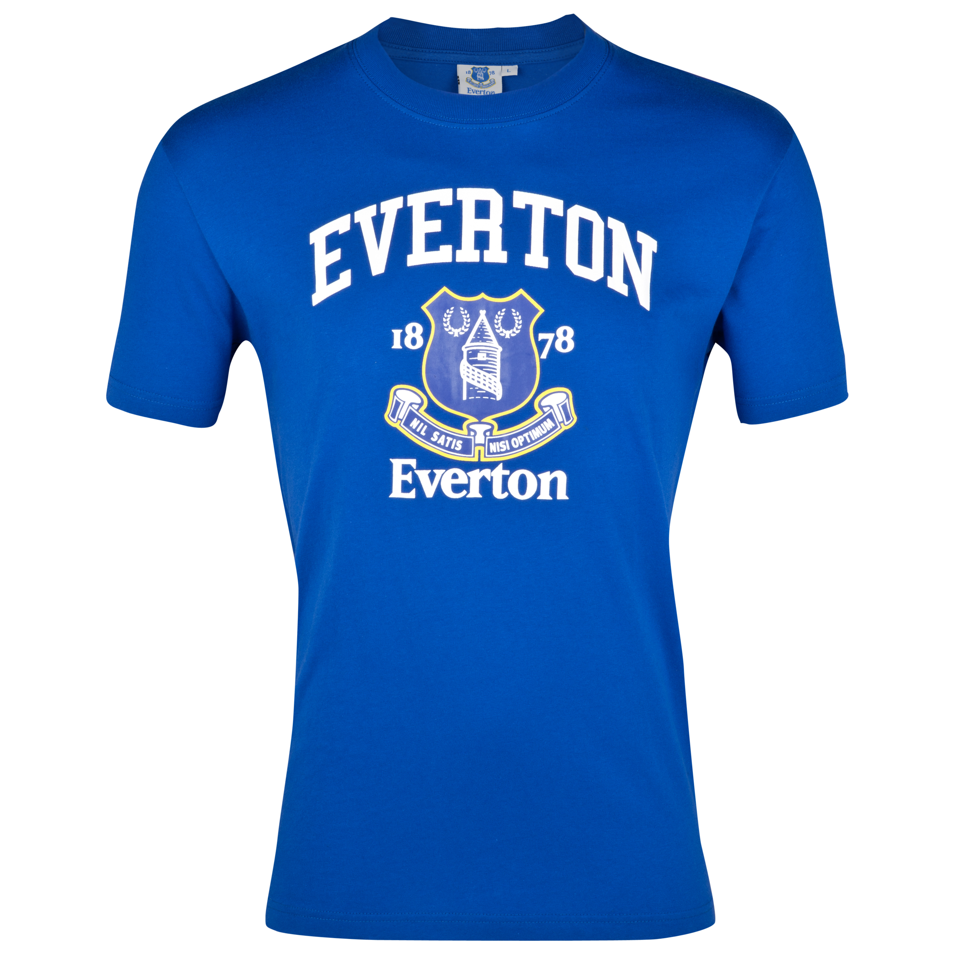 Everton Essential Faith Graphic T-Shirt - Everton Blue - Older Boys