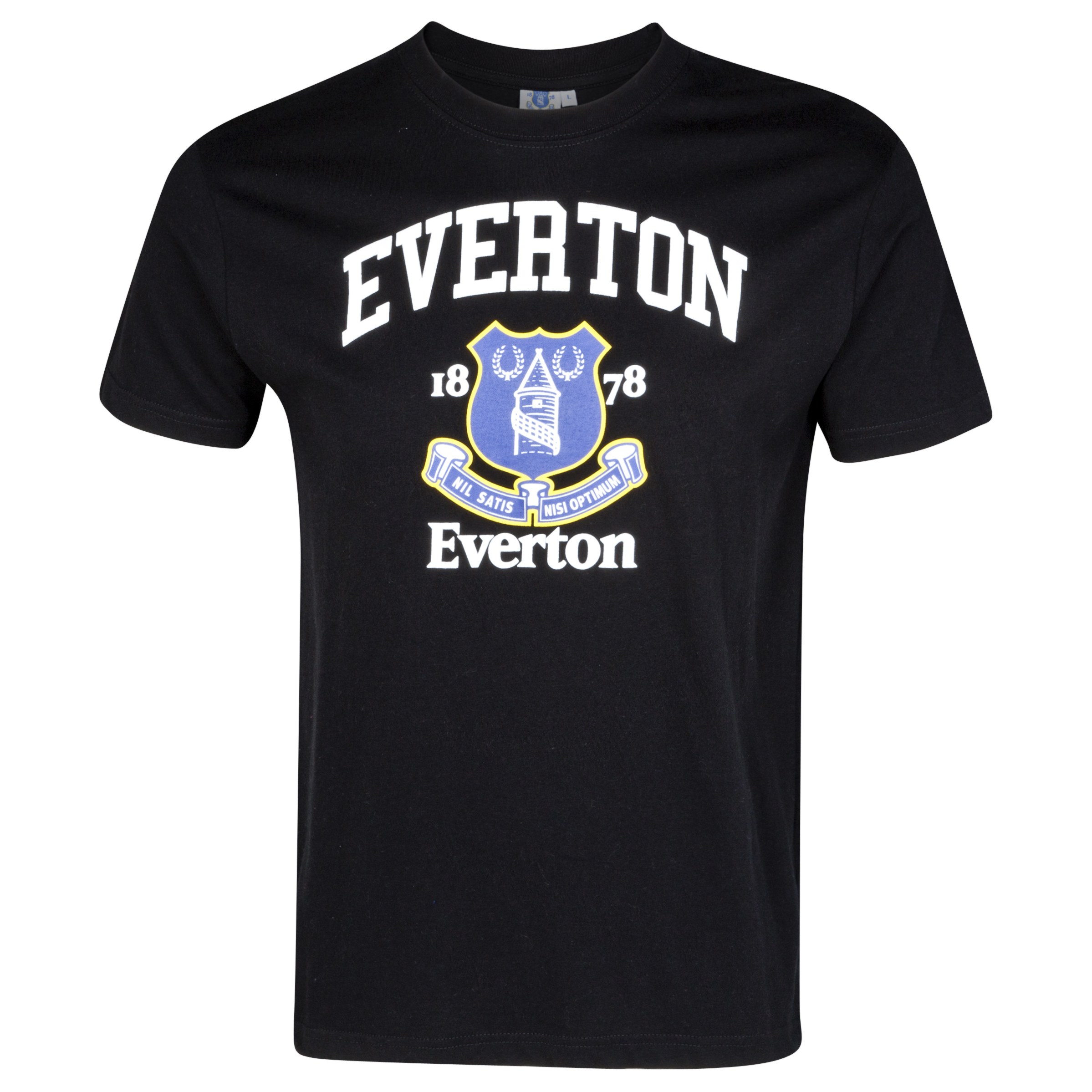 Everton Essential Faith Graphic T-Shirt - Black - Older Boys
