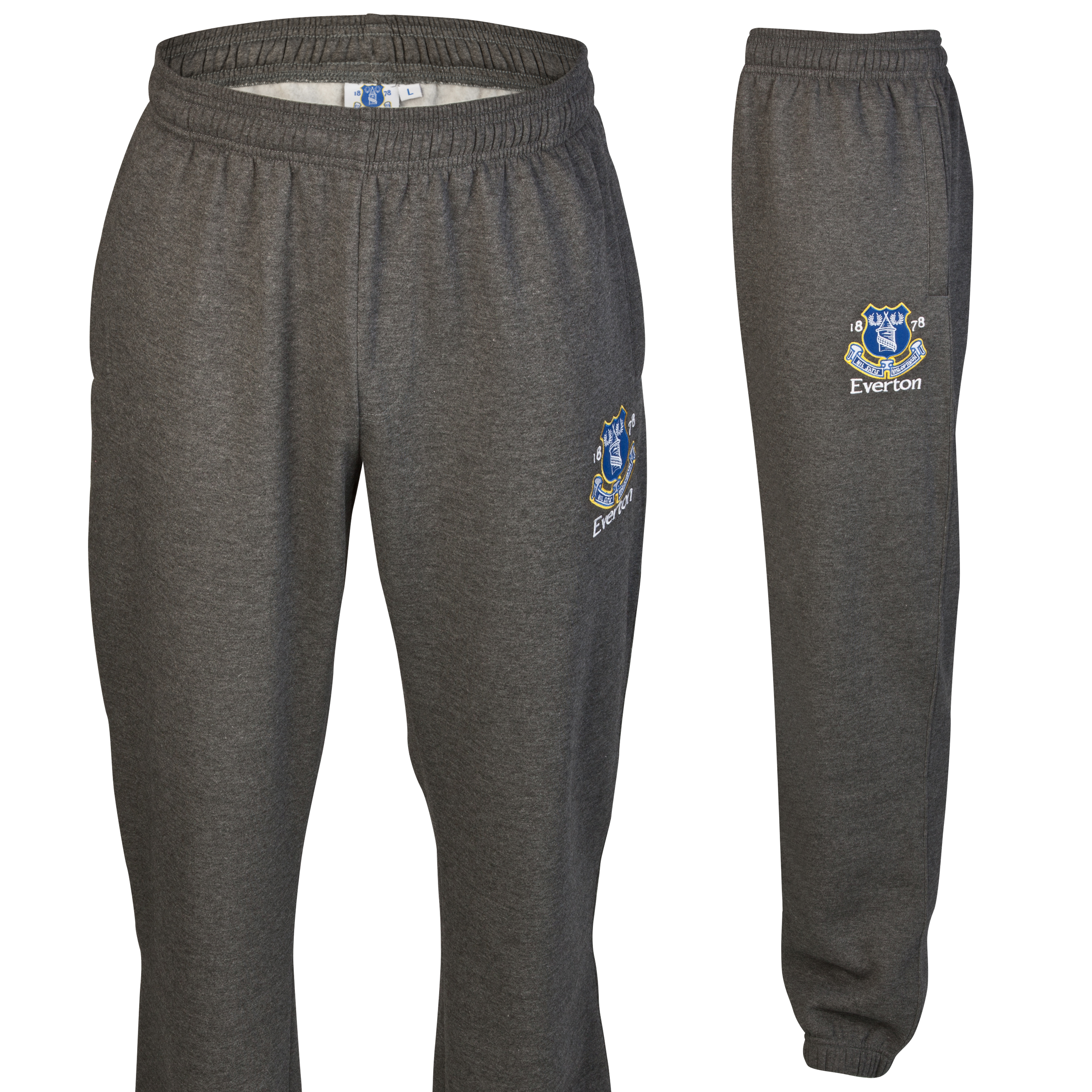 Everton Essential Jump Jog Pants - Charcoal Marl - Older Boys