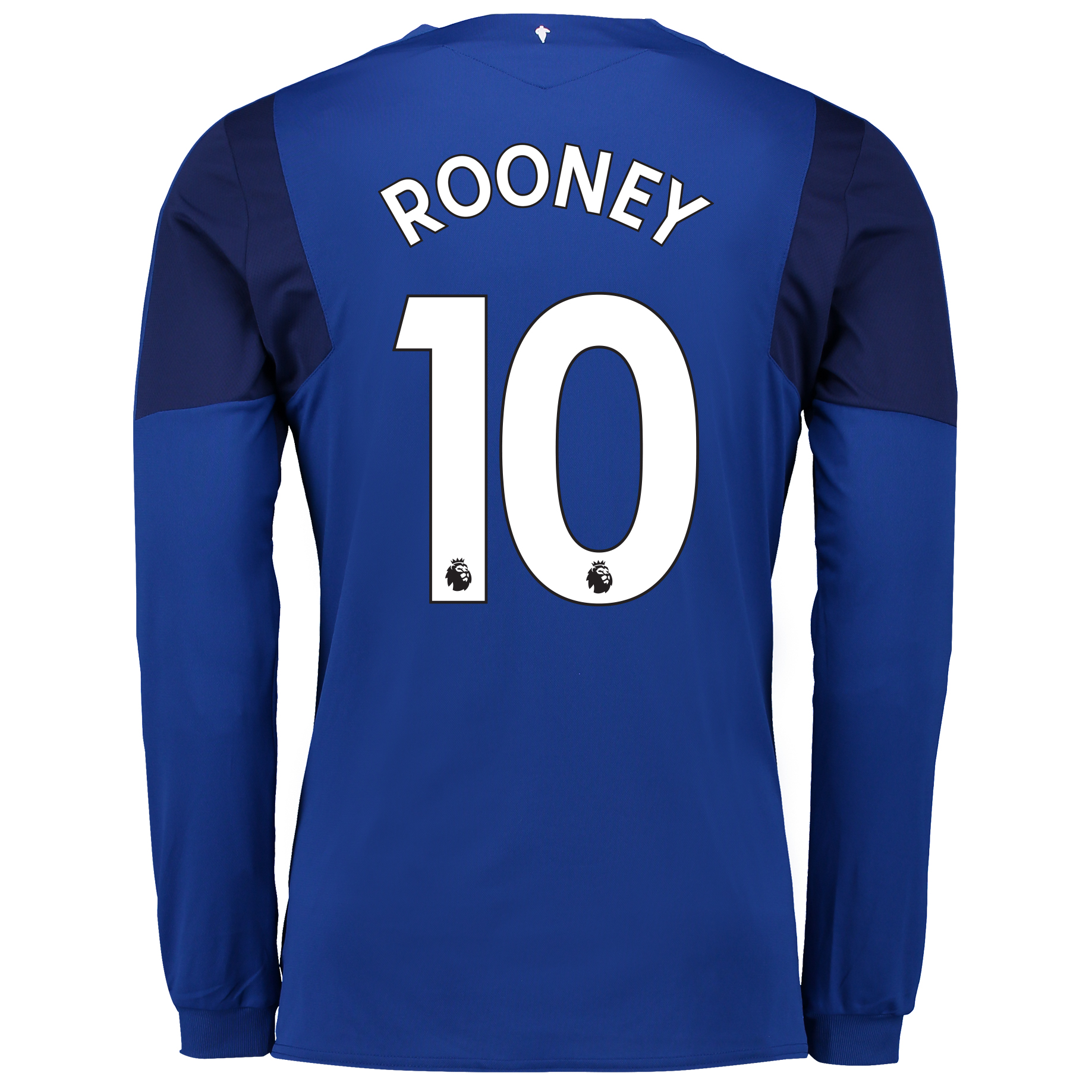 Everton Home Shirt 2017/18 - Junior - Long Sleeved with Rooney 10 prin