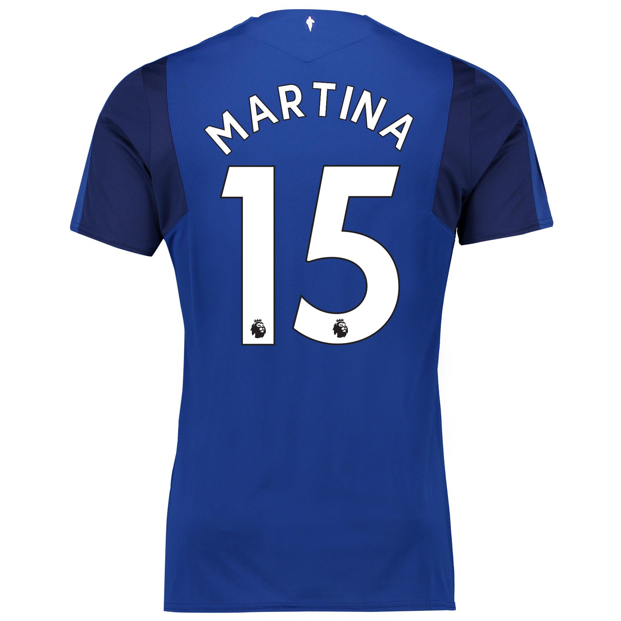 Everton Home Shirt 2017/18 with Martina 15 printing