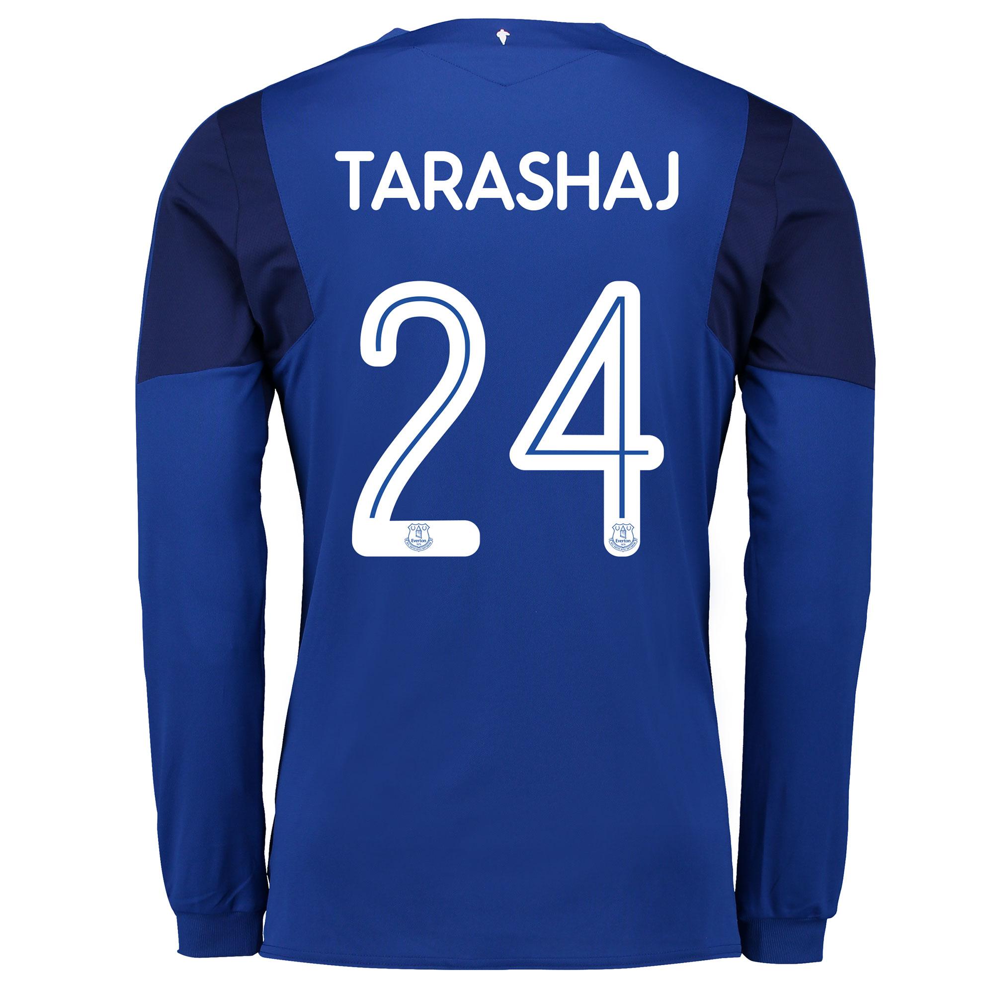 Image of Everton Home Cup Shirt 2017/18 - Junior - Long Sleeved with Tarashaj 2