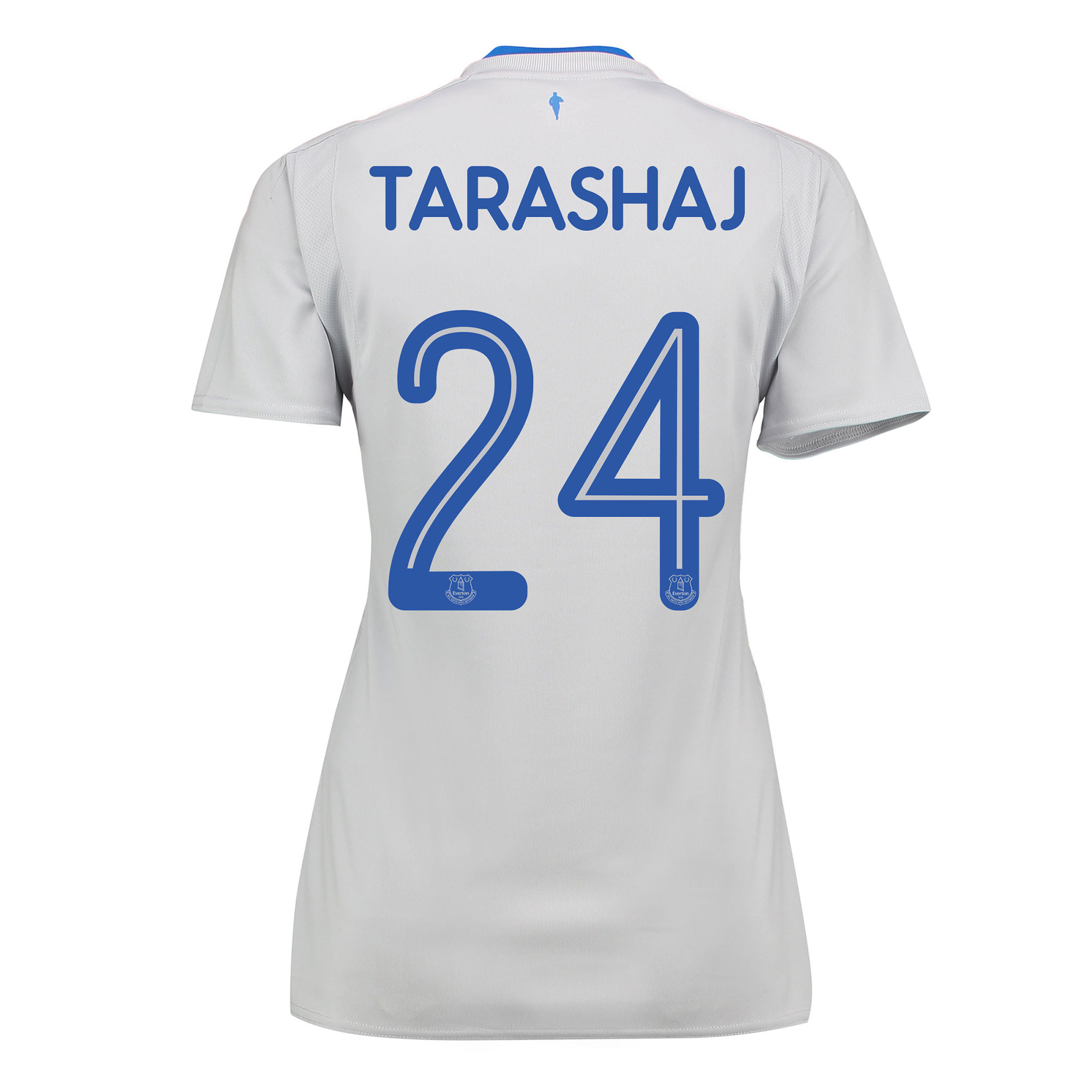 Everton Away Shirt 2017/18 - Womens with Tarashaj 24 printing