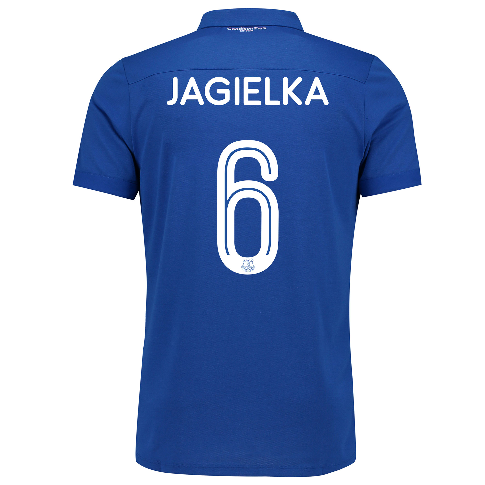 Image of Everton Commemorative Shirt with Jagielka 6 printing