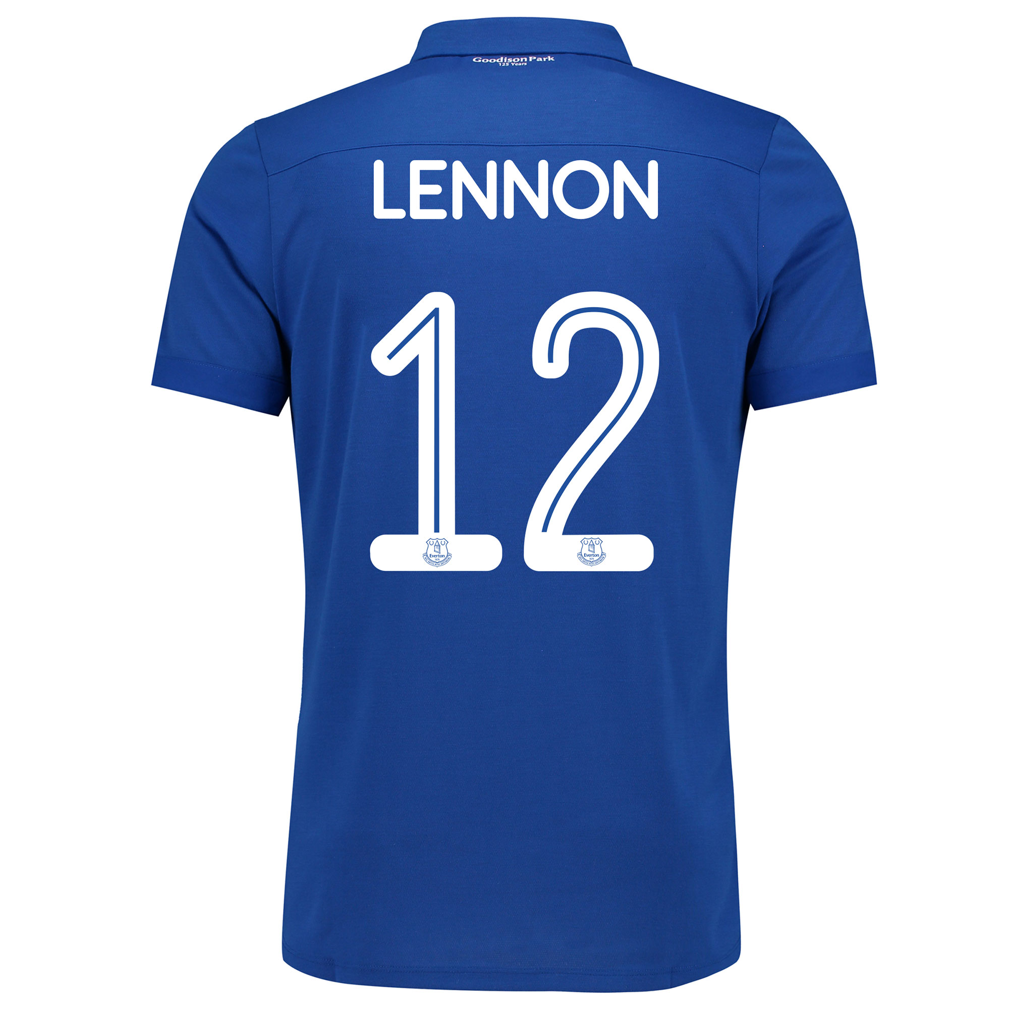 Image of Everton Commemorative Shirt with Lennon 12 printing