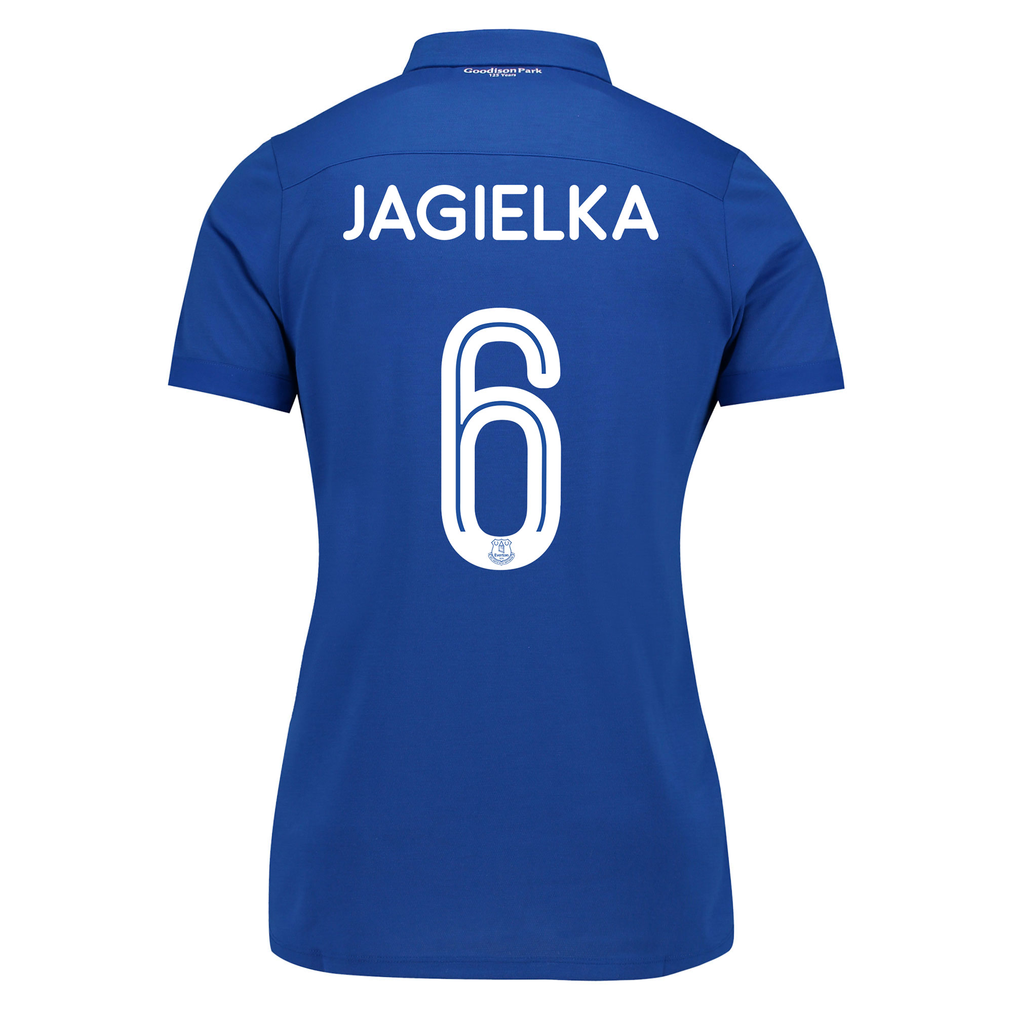 Image of Everton Commemorative Shirt - Womens with Jagielka 6 printing