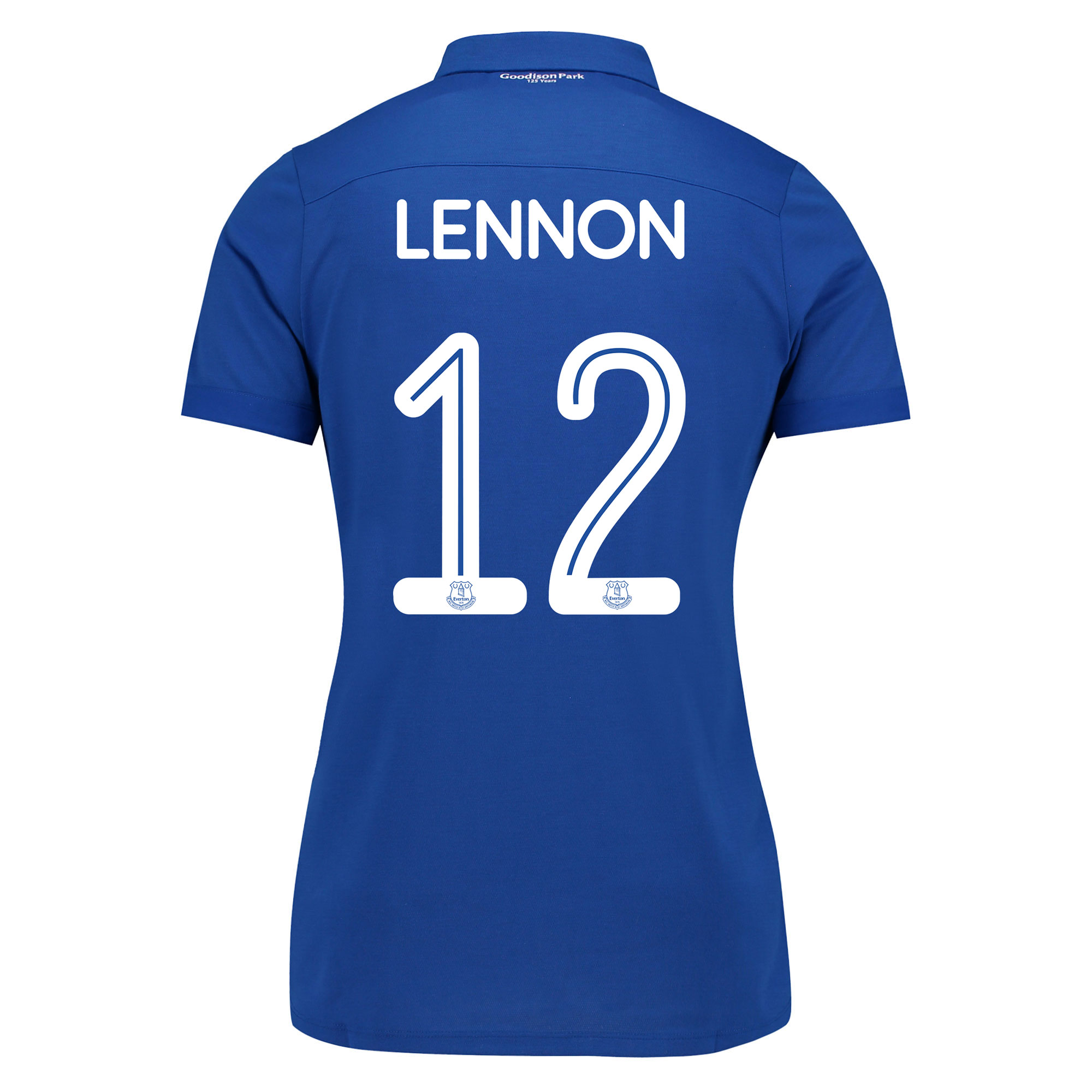 Image of Everton Commemorative Shirt - Womens with Lennon 12 printing