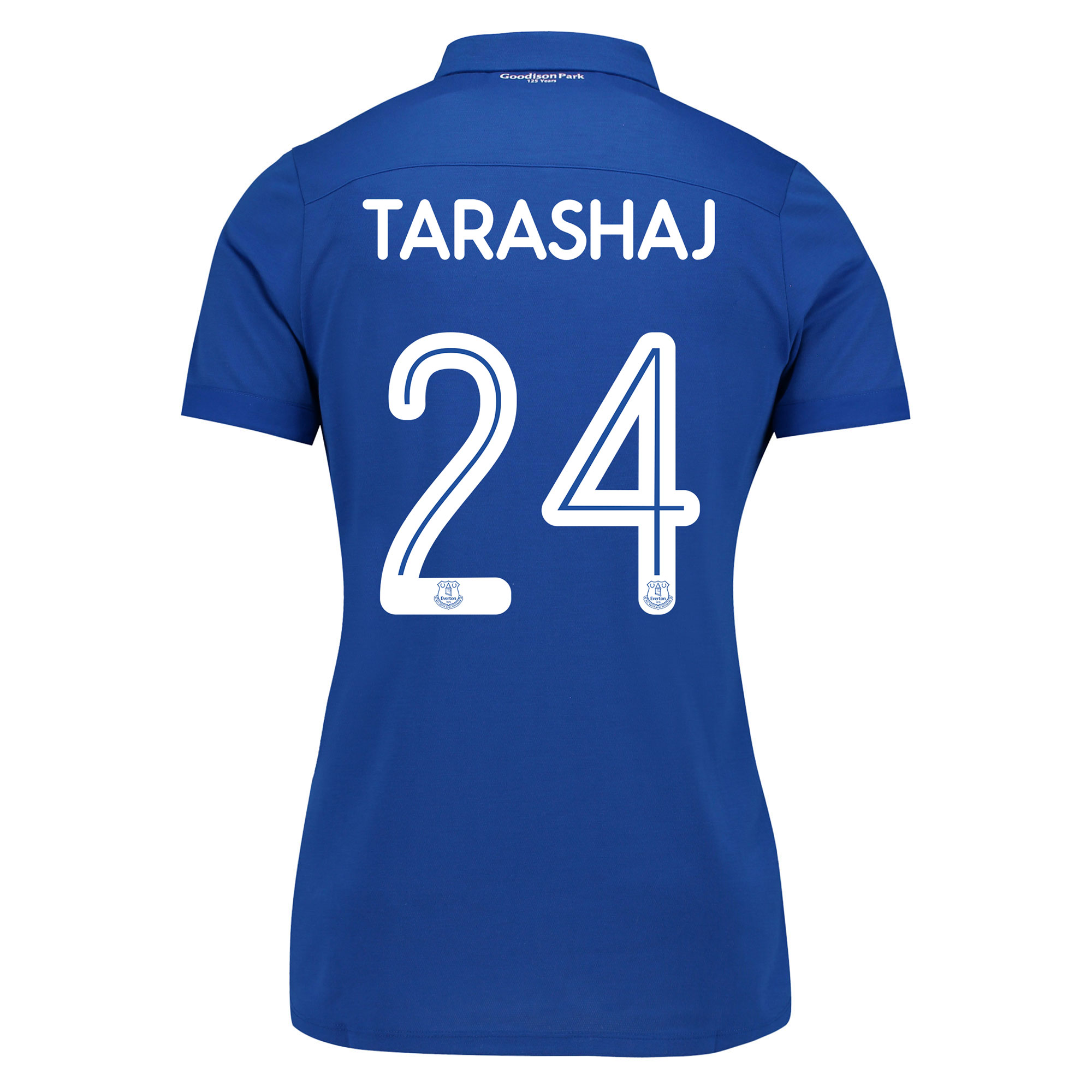 Everton Commemorative Shirt - Womens with Tarashaj 24 printing
