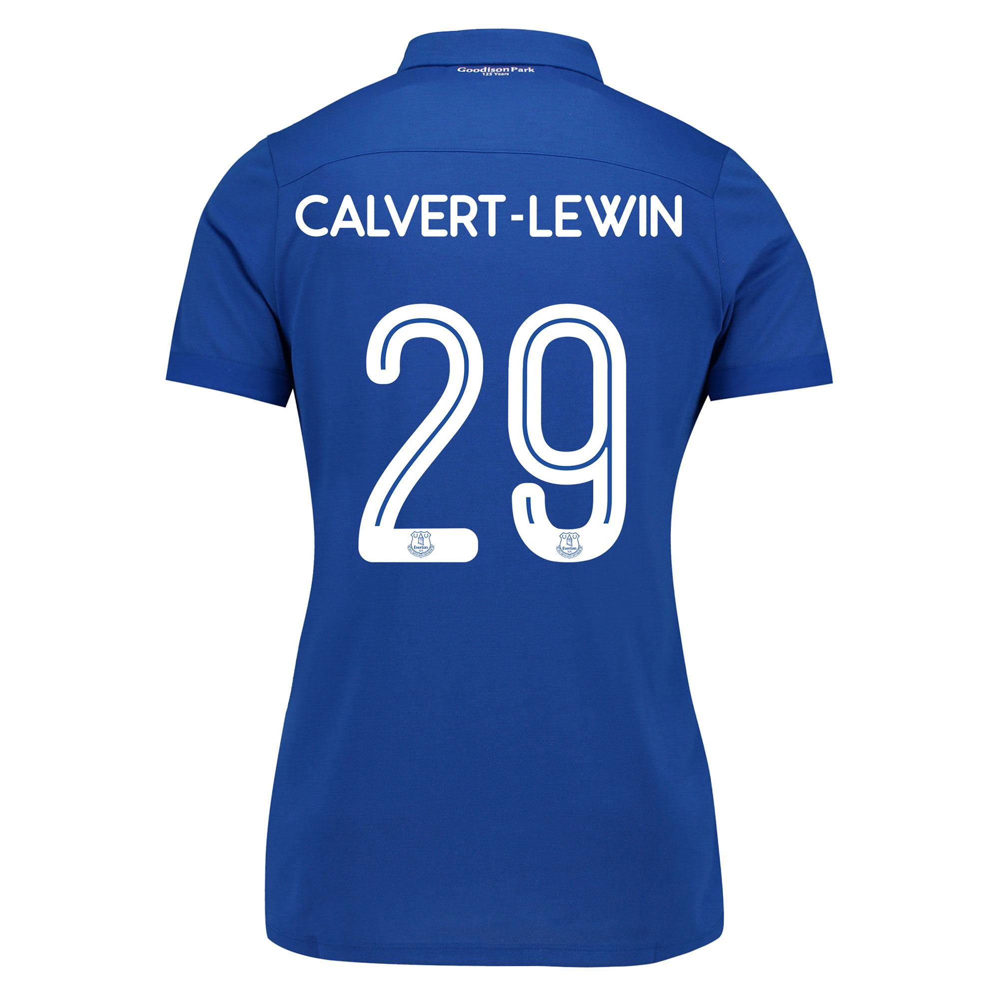 Image of Everton Commemorative Shirt - Womens with Calvert-Lewin 29 printing