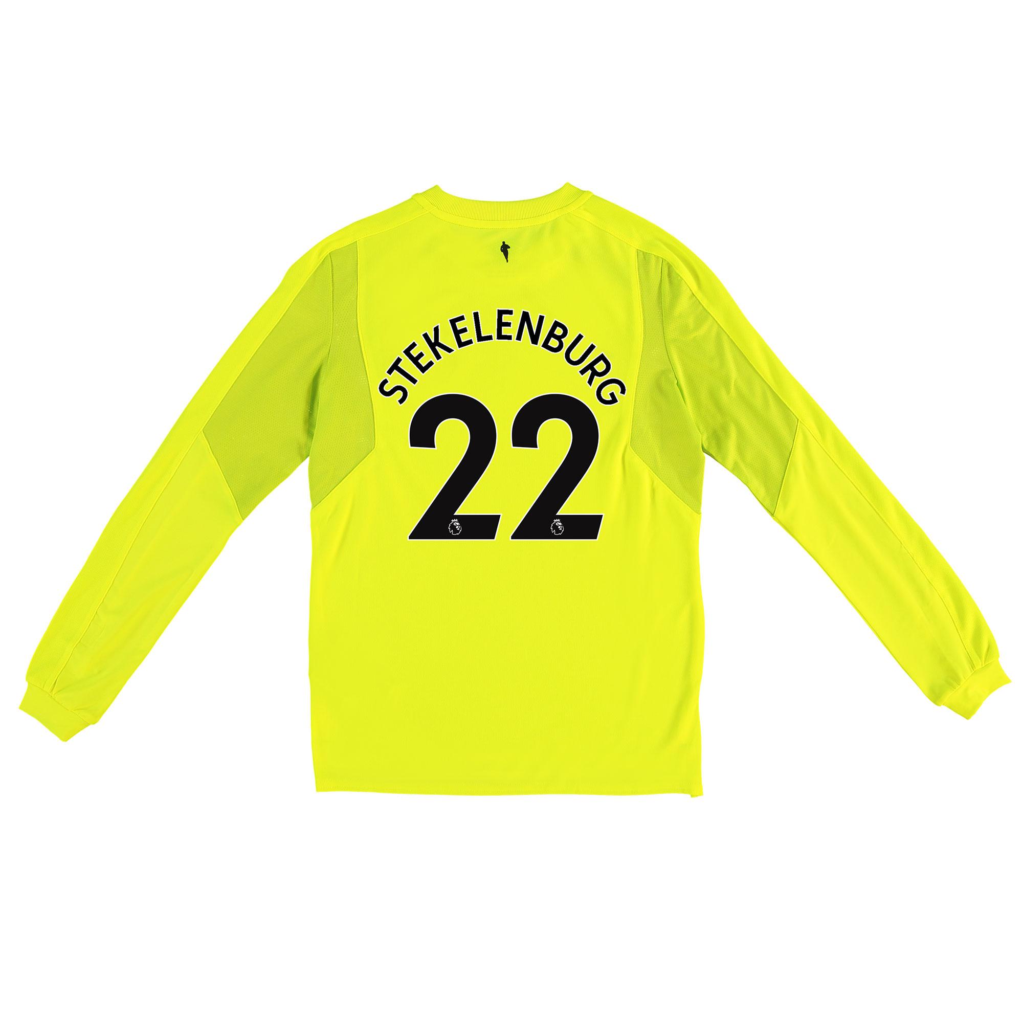Everton Goalkeeper 3rd Shirt 2017/18 - Junior with Stekelenburg 22 pri