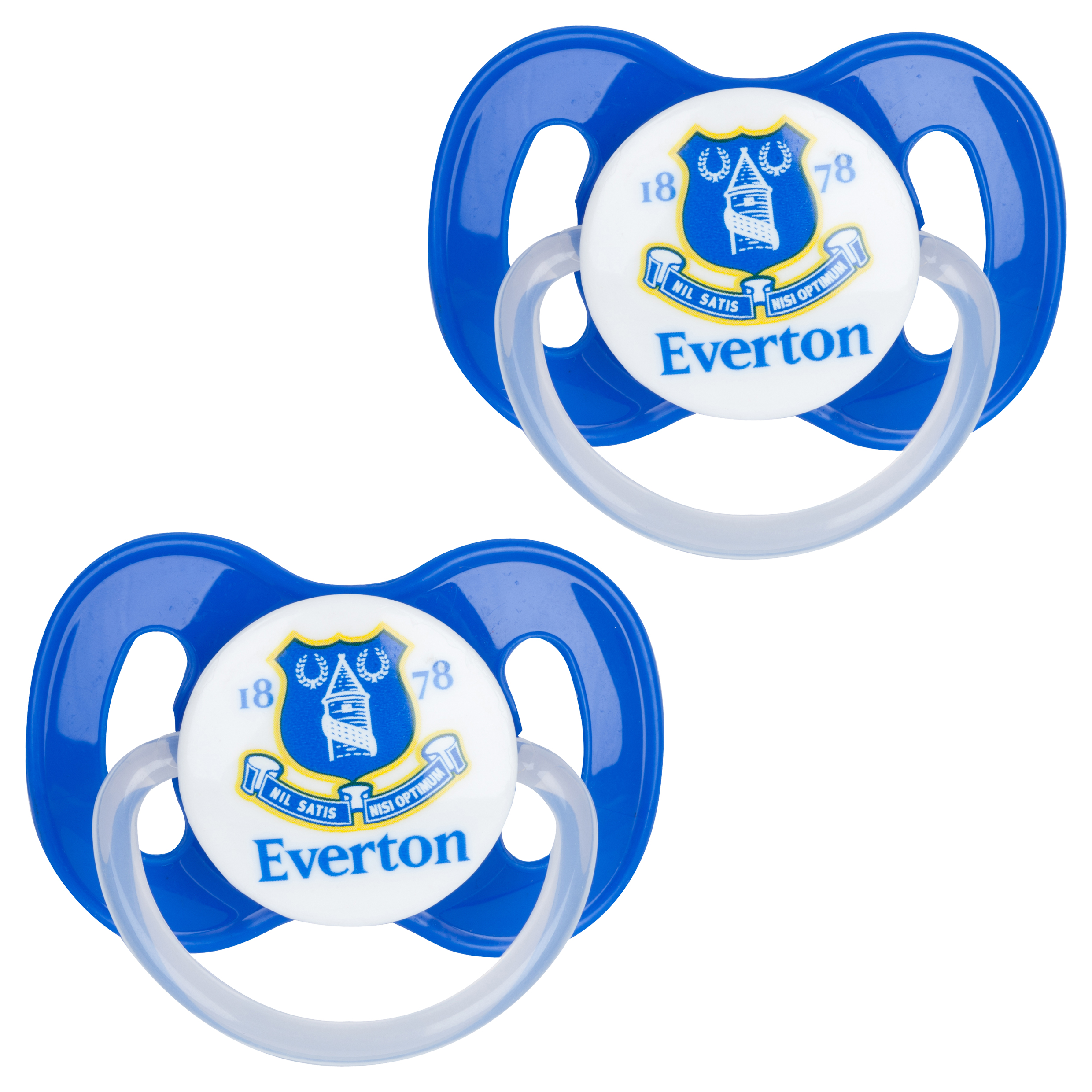 Everton 2 Pack Soothers