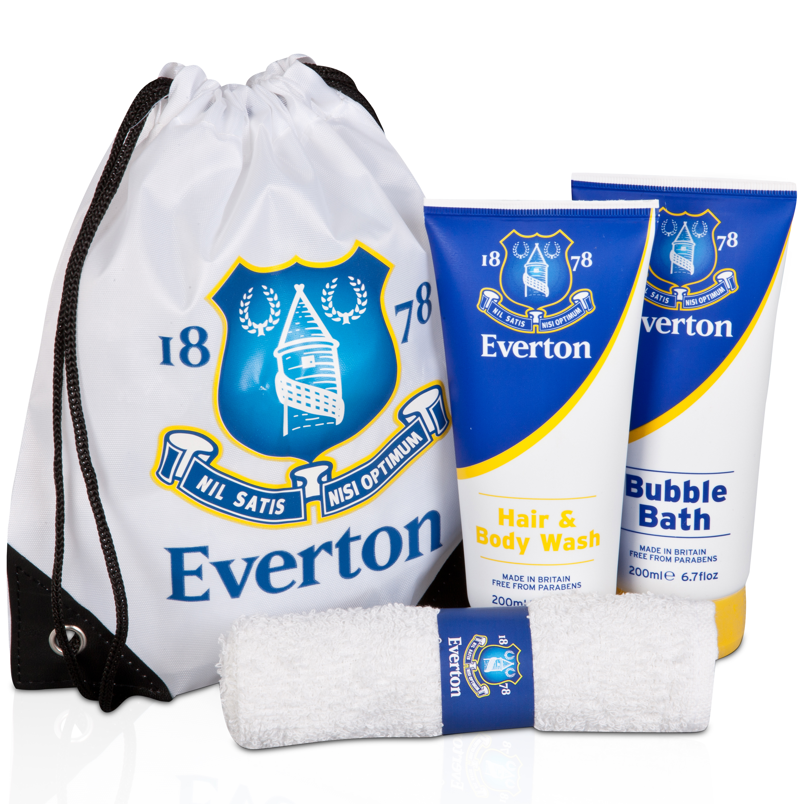 Everton Large Kit Bathroom Gift Set in a Wash Bag