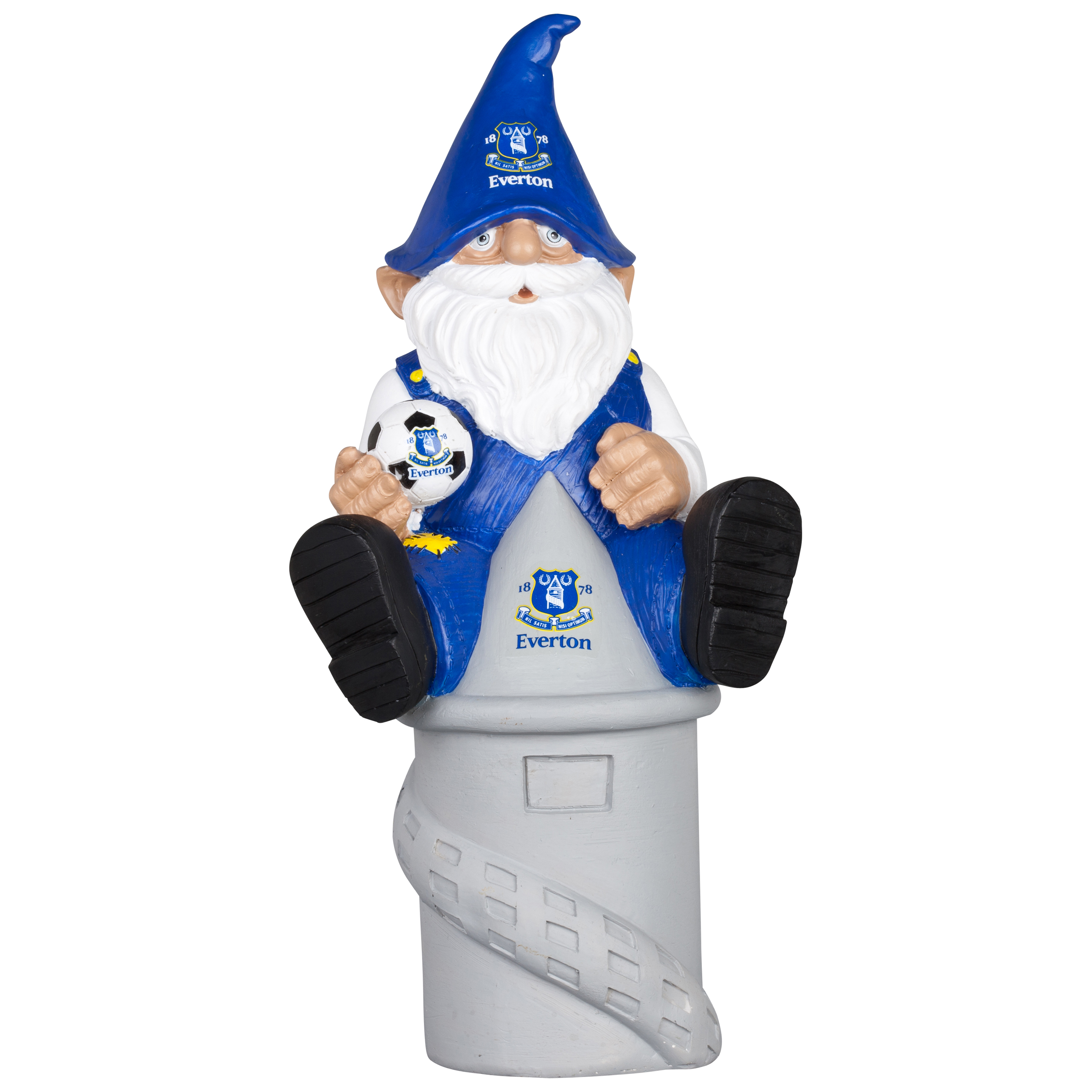 Everton Themed Tower Gnome
