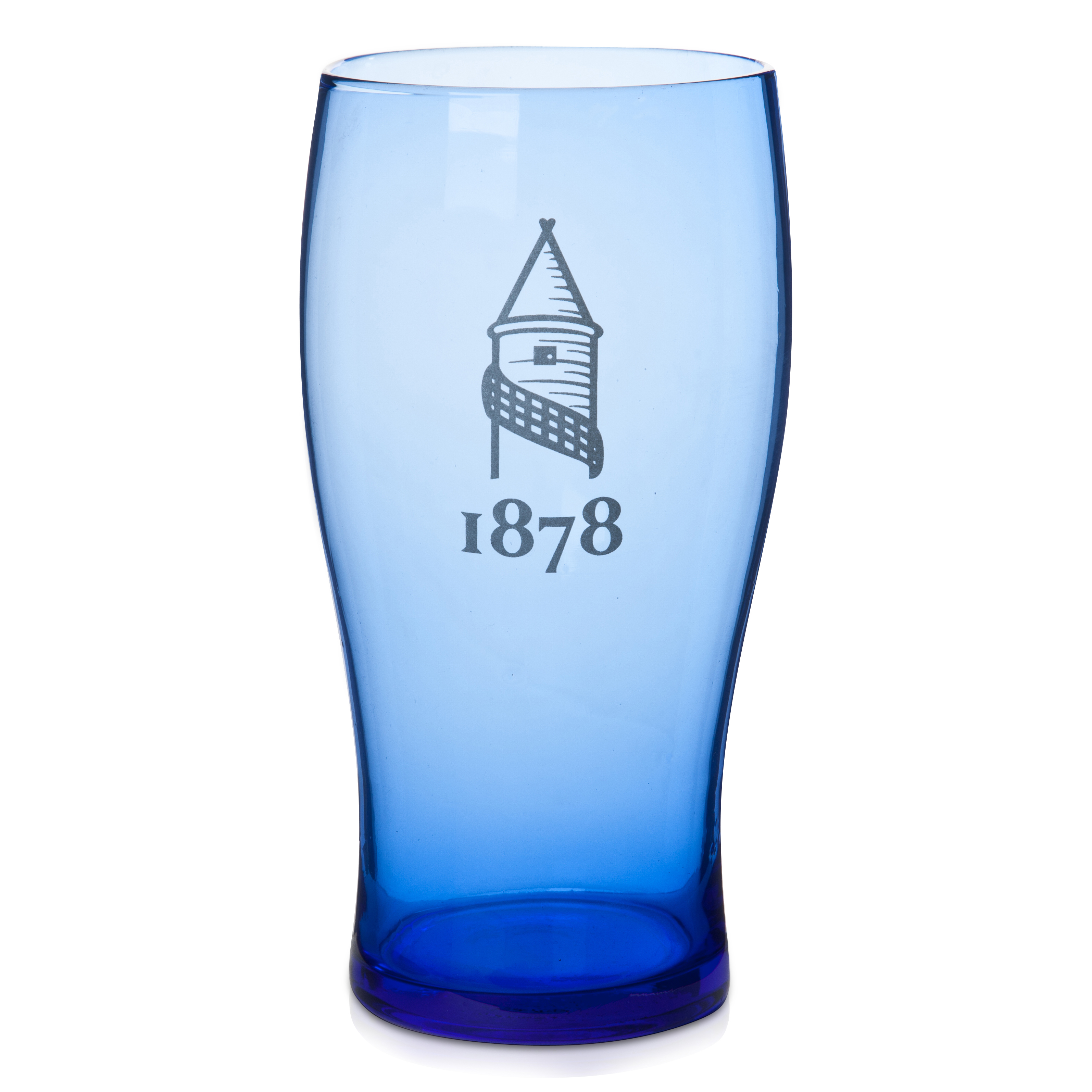 Everton Colour Crest Pint Glass