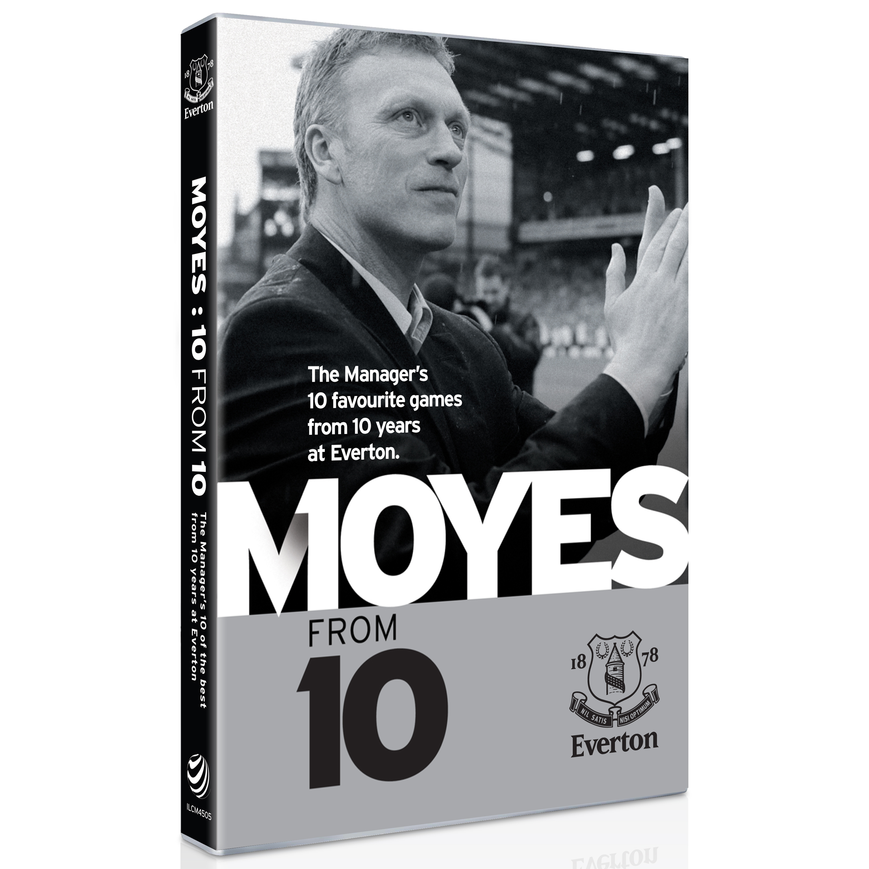 Everton David Moyes - Ten from Ten DVD
