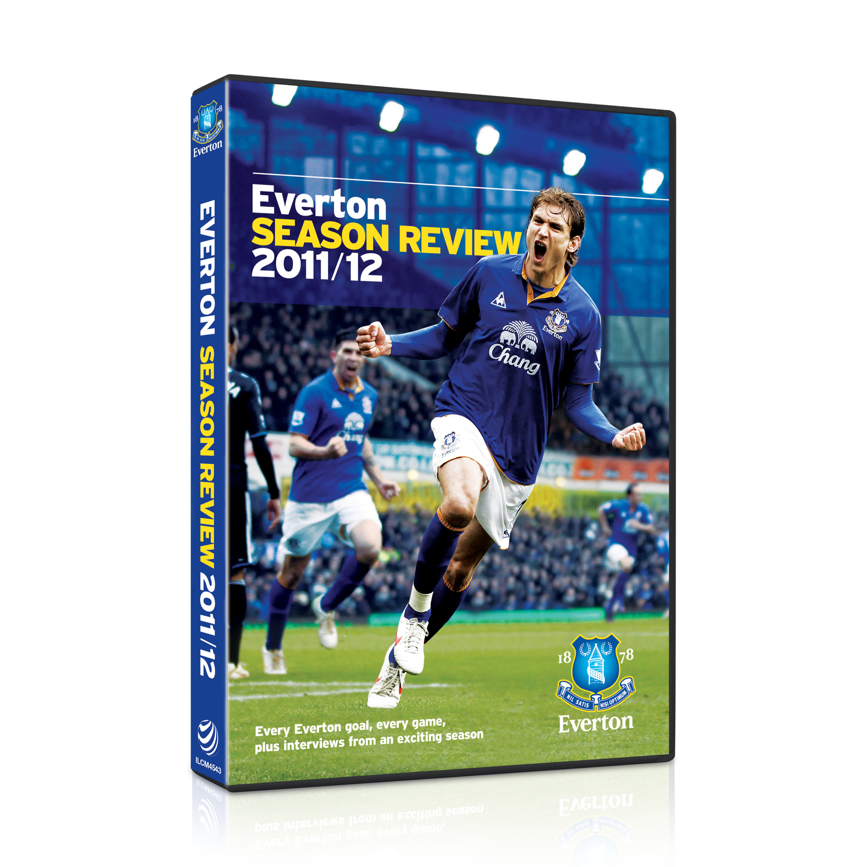 Everton Season Review 2011/12 DVD