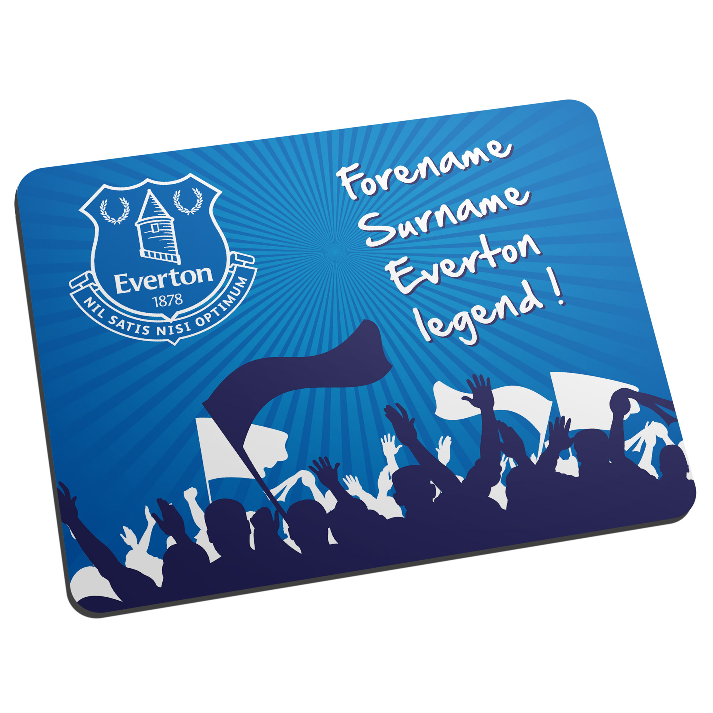 Everton Personalised Legend Mouse Mat
