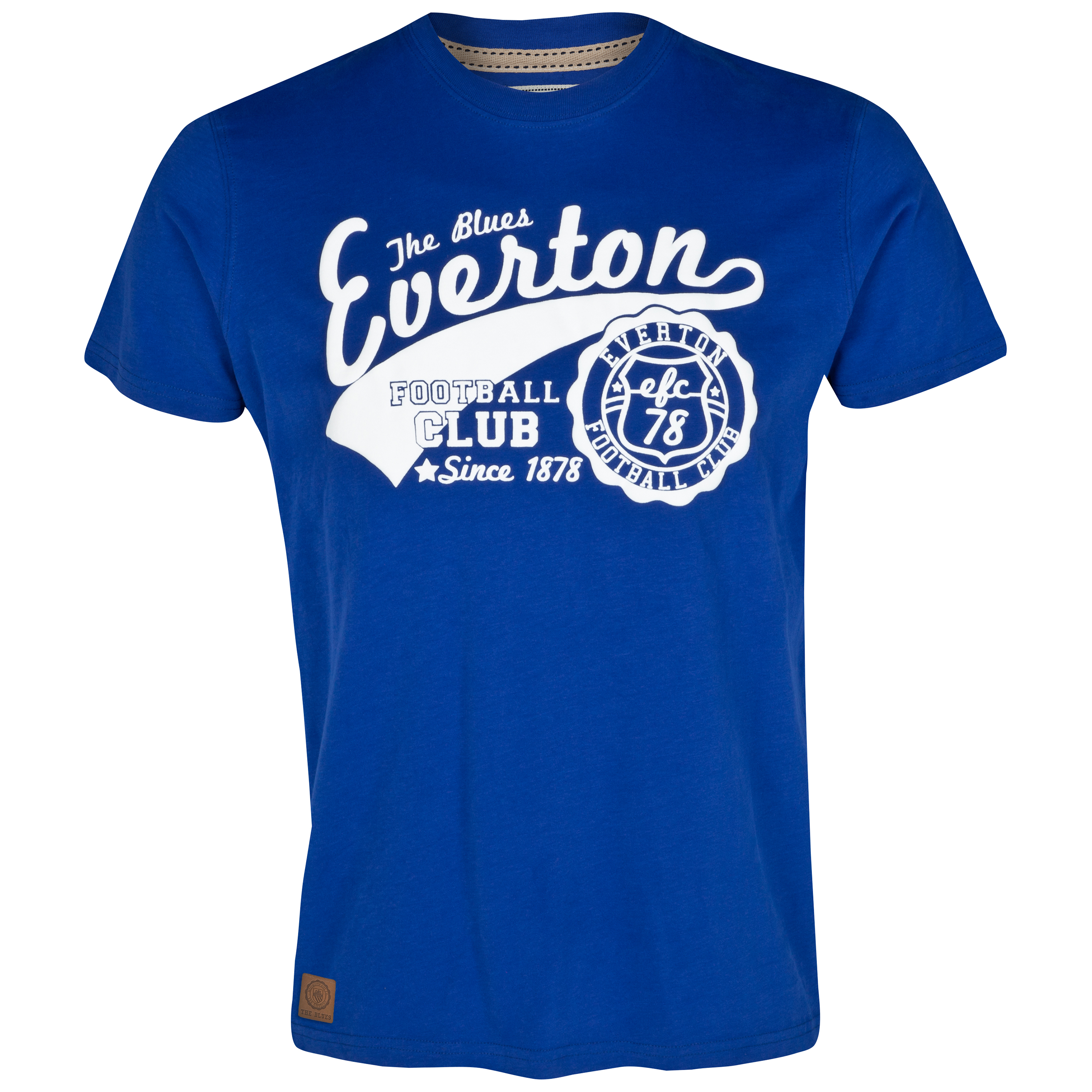 Everton Popped T-Shirt - Everton Blue