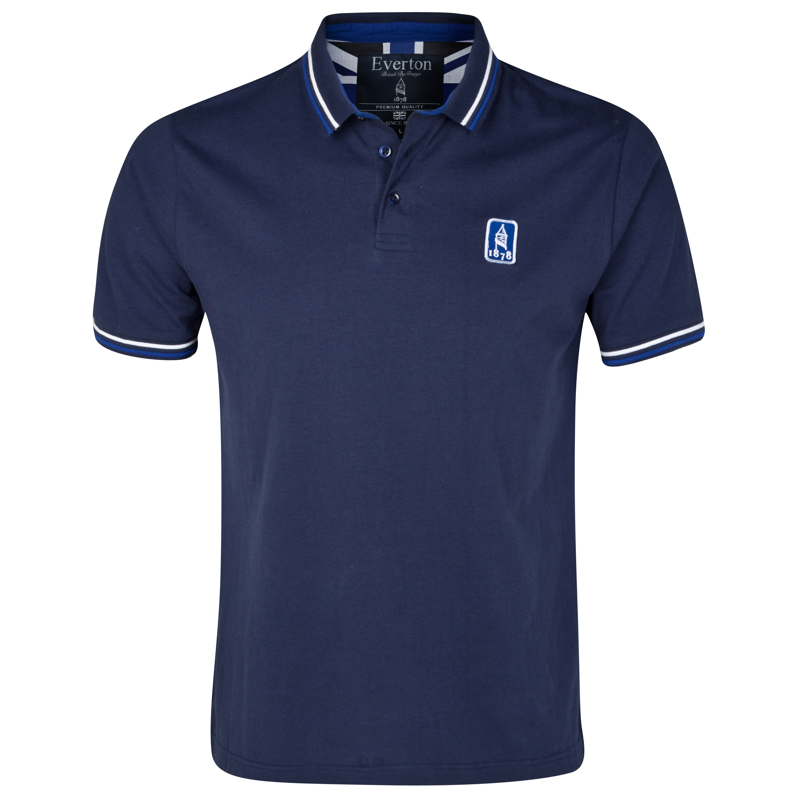 Everton Pier Polo Top - Navy