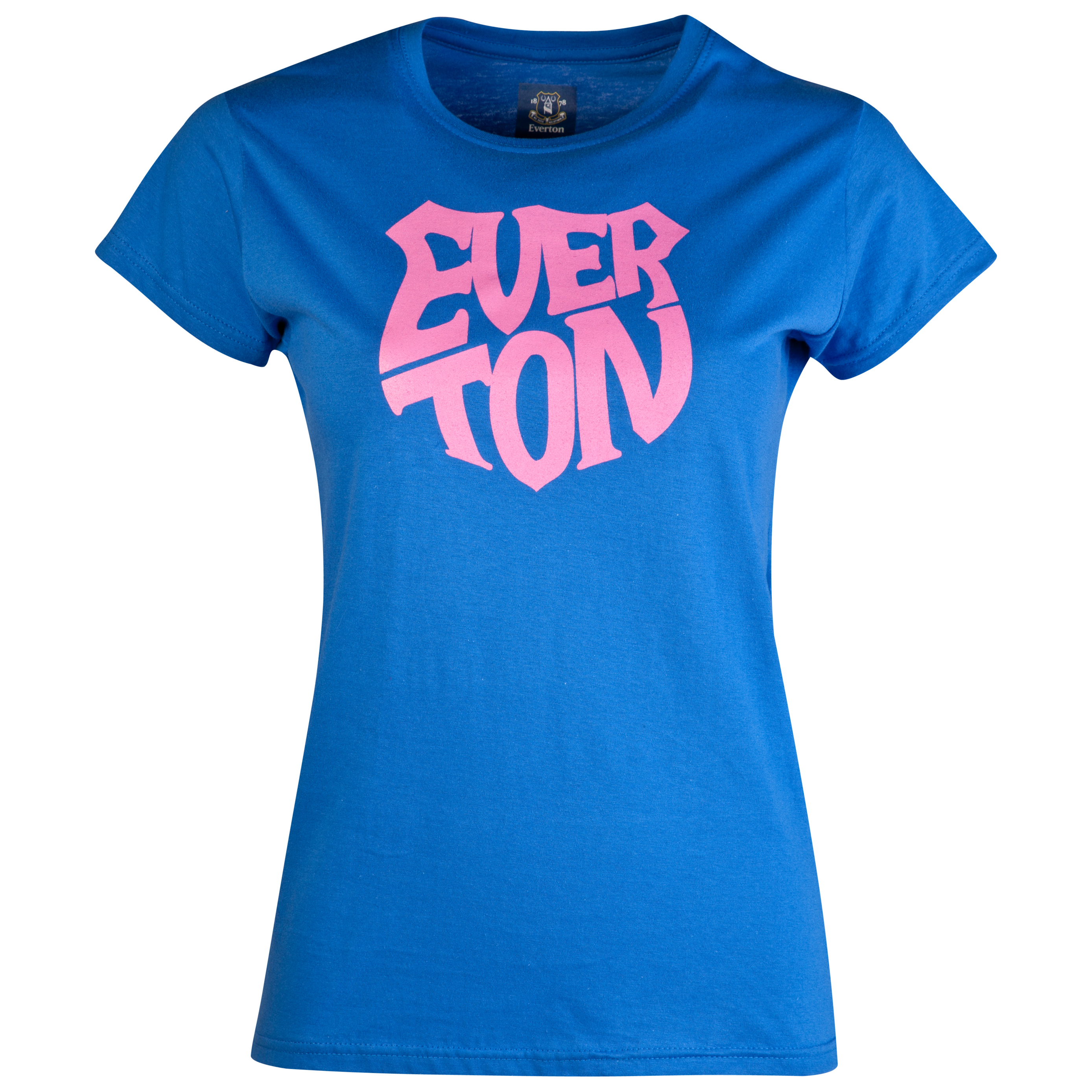 Everton 2for£20 Shield T-Shirt - Royal - Womens