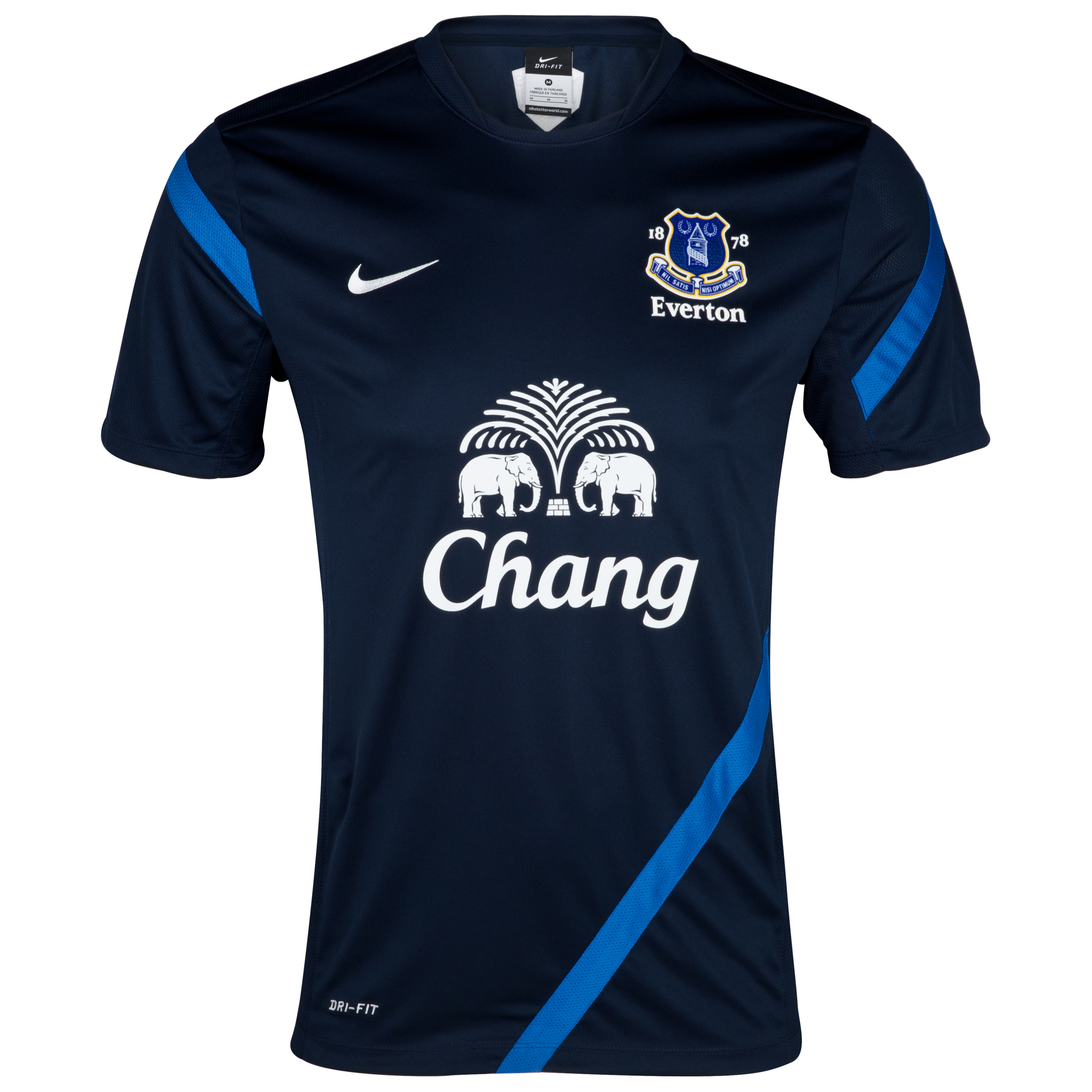 Everton Training T-Shirt - Obsidian/Royal Blue/White