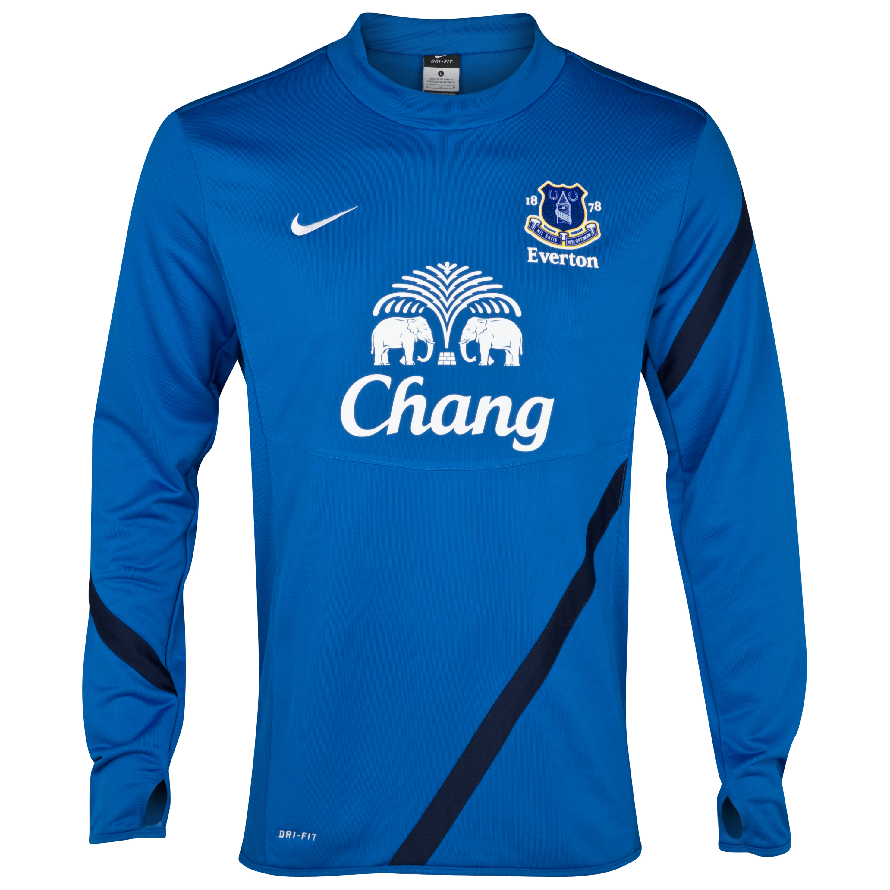Everton Midlayer Top  - Royal Blue/Obsidian/White